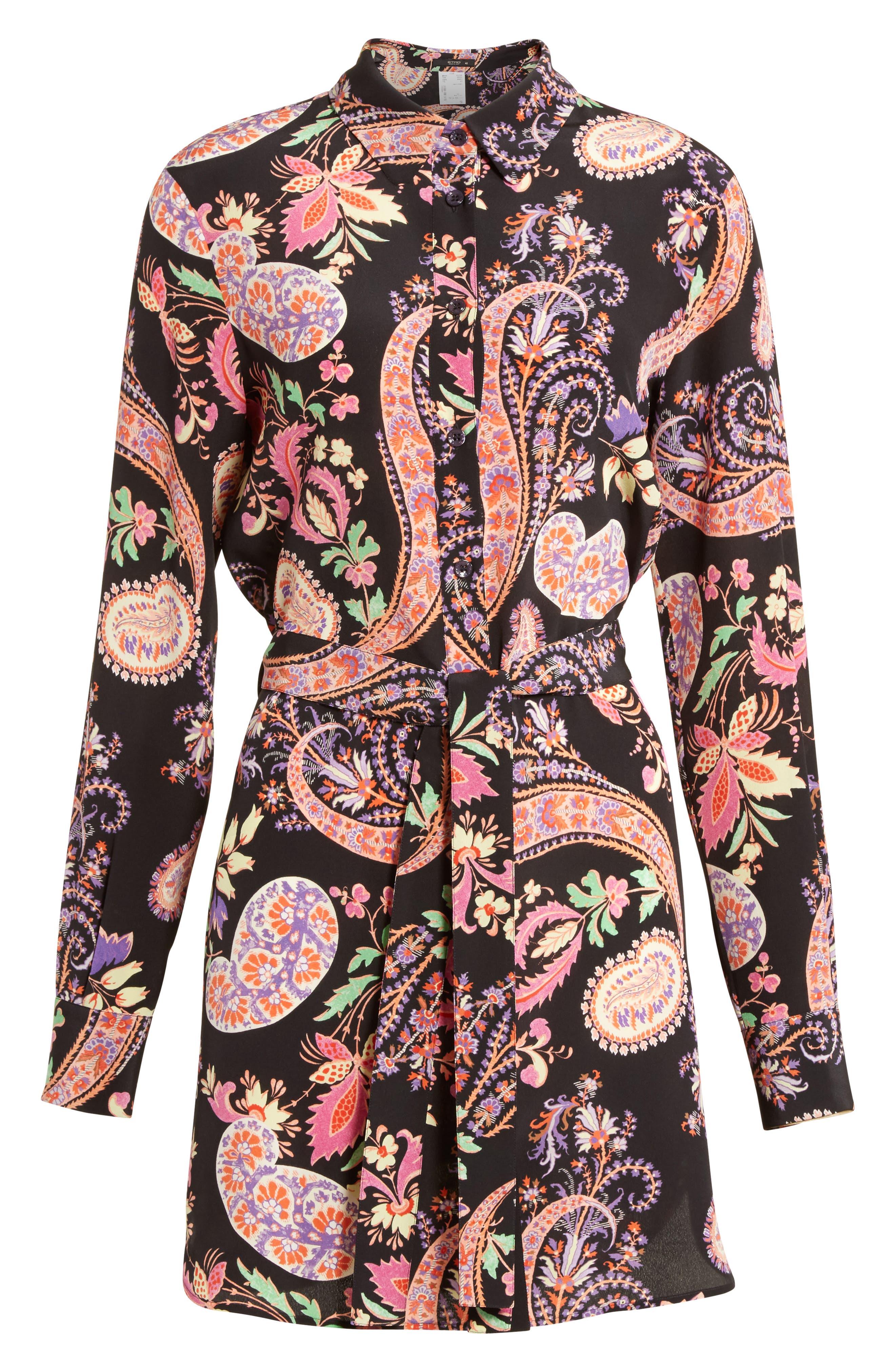 Alternate Image 4  - Etro Floral Paisley Print Silk Tunic