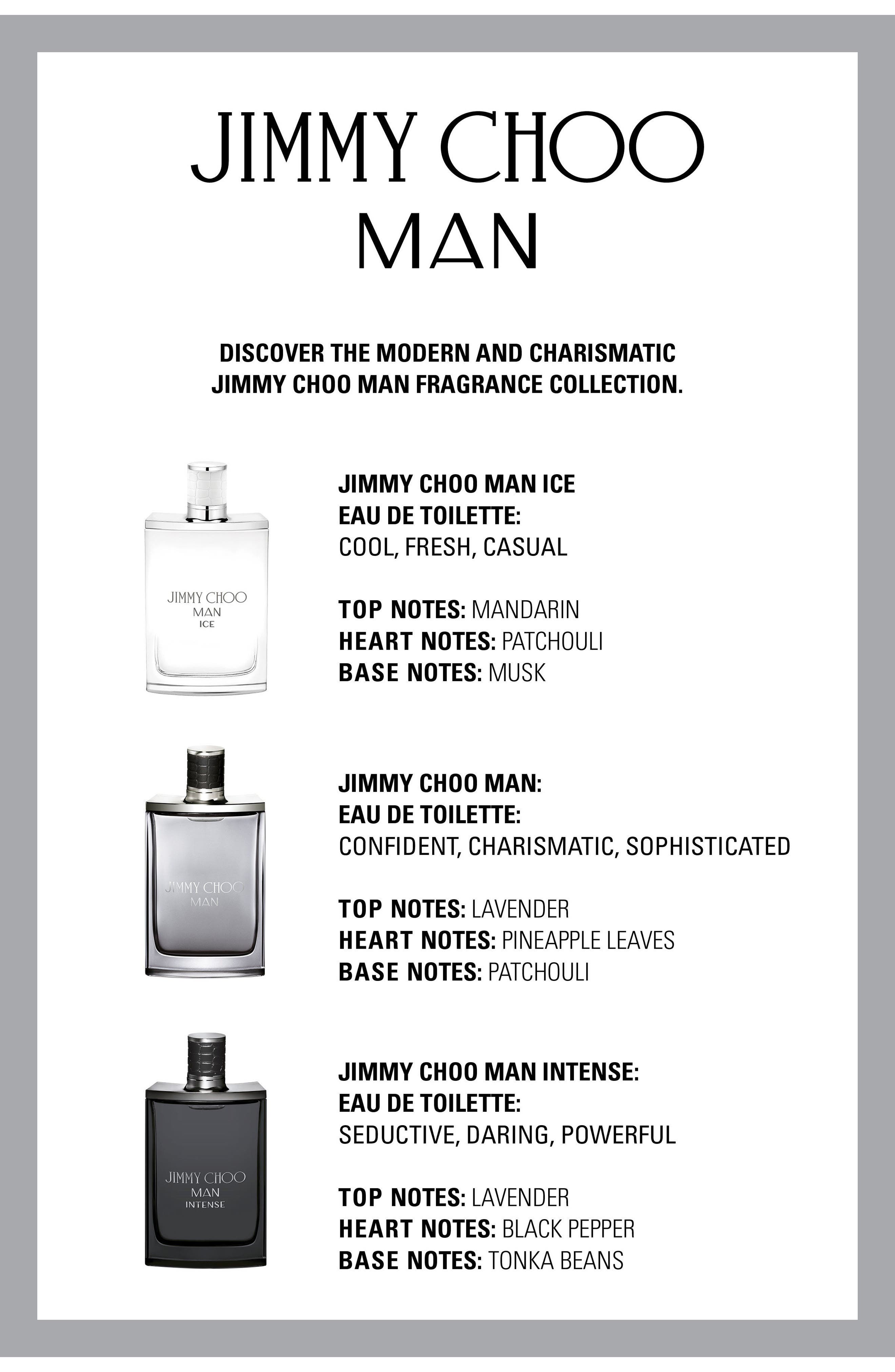Alternate Image 4  - Jimmy Choo MAN Intense Eau de Toilette