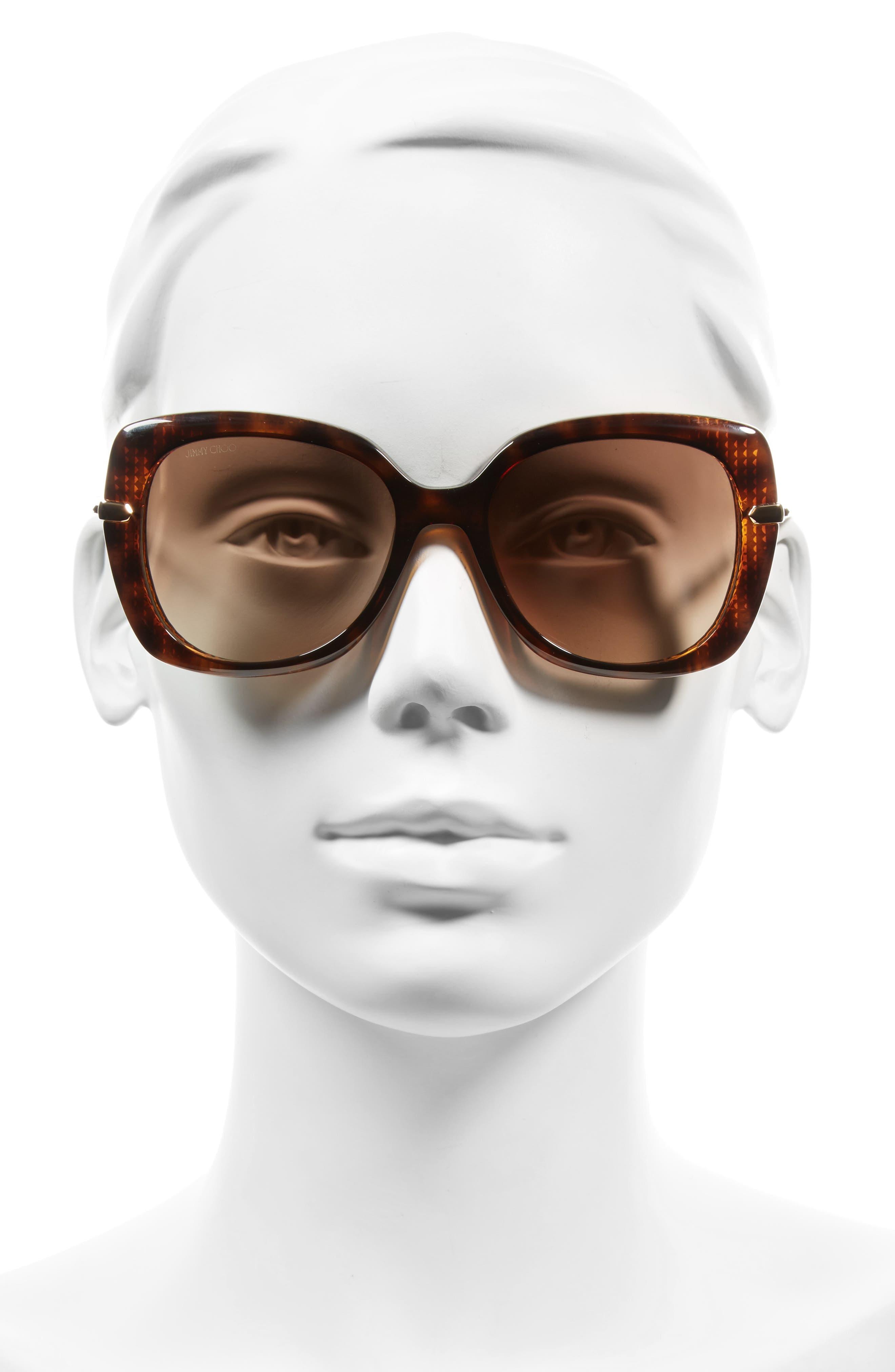 Alternate Image 2  - Jimmy Choo Ludis 53mm Gradient Sunglasses