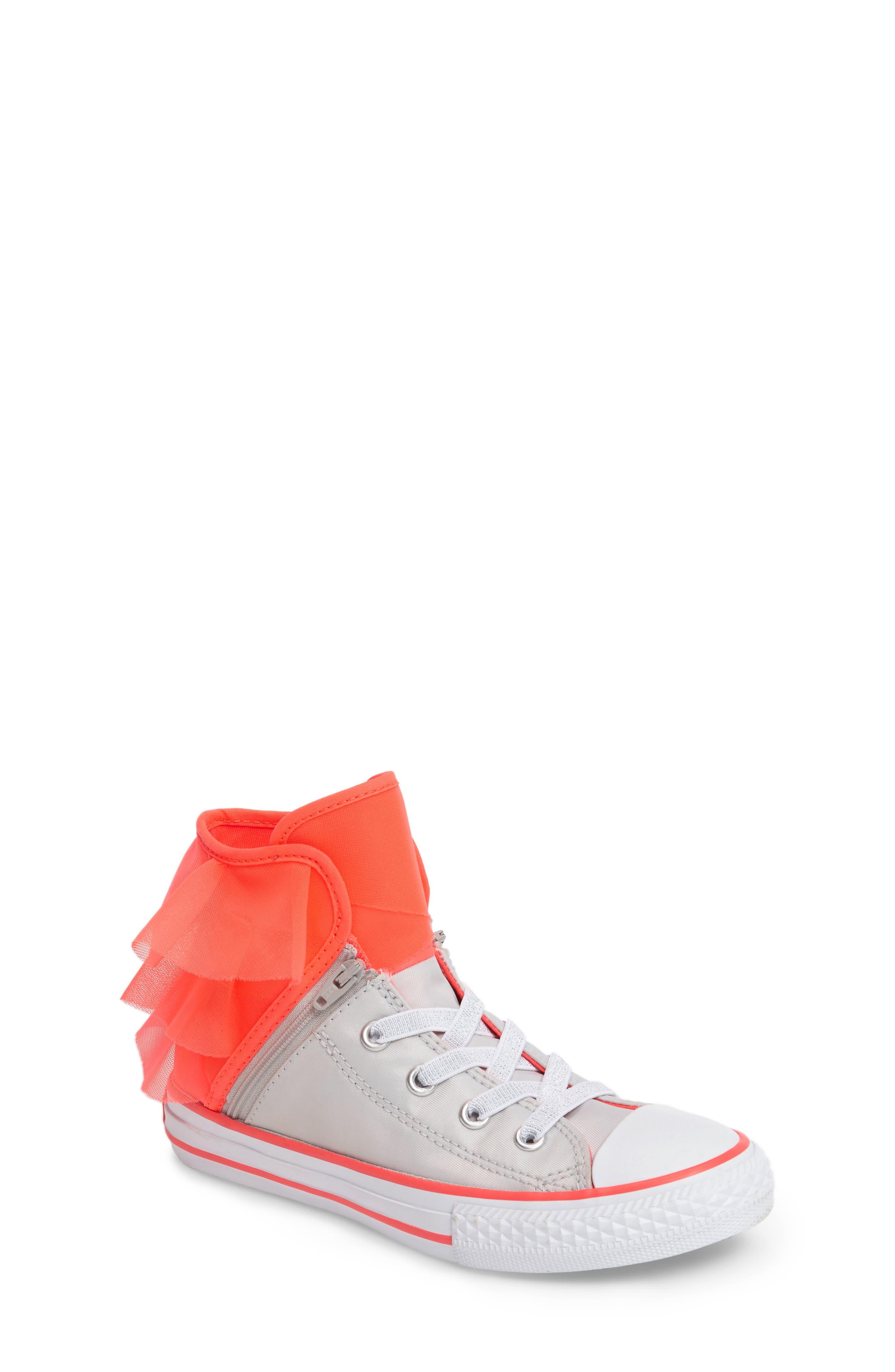Alternate Image 1 Selected - Converse Block Party High Top Sneaker (Baby, Walker, Toddler, Little Kid & Big Kid)