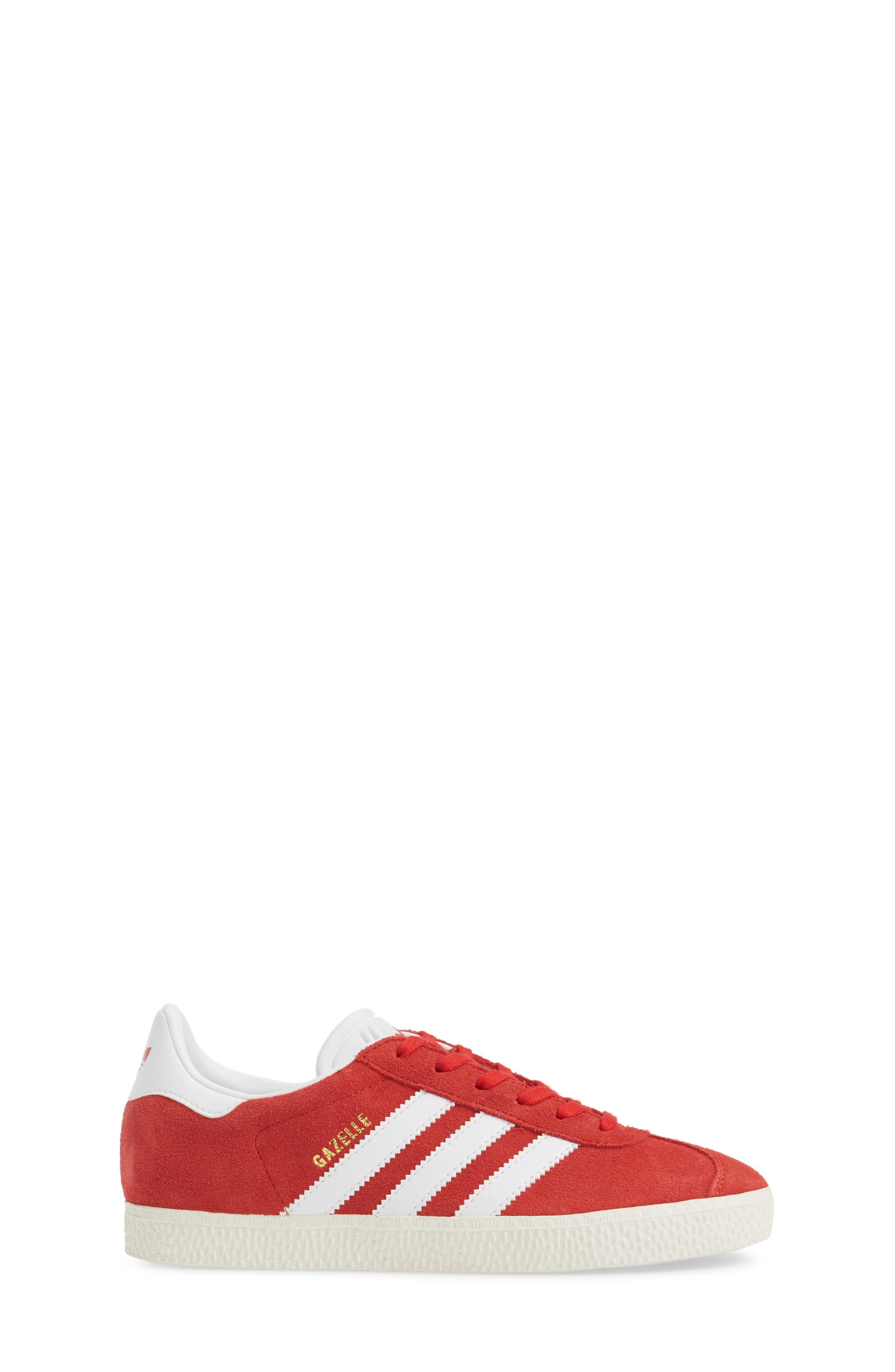 Alternate Image 3  - adidas Gazelle Sneaker (Big Kid)