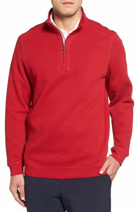 Men's Cutter & Buck Red Sweaters | Nordstrom