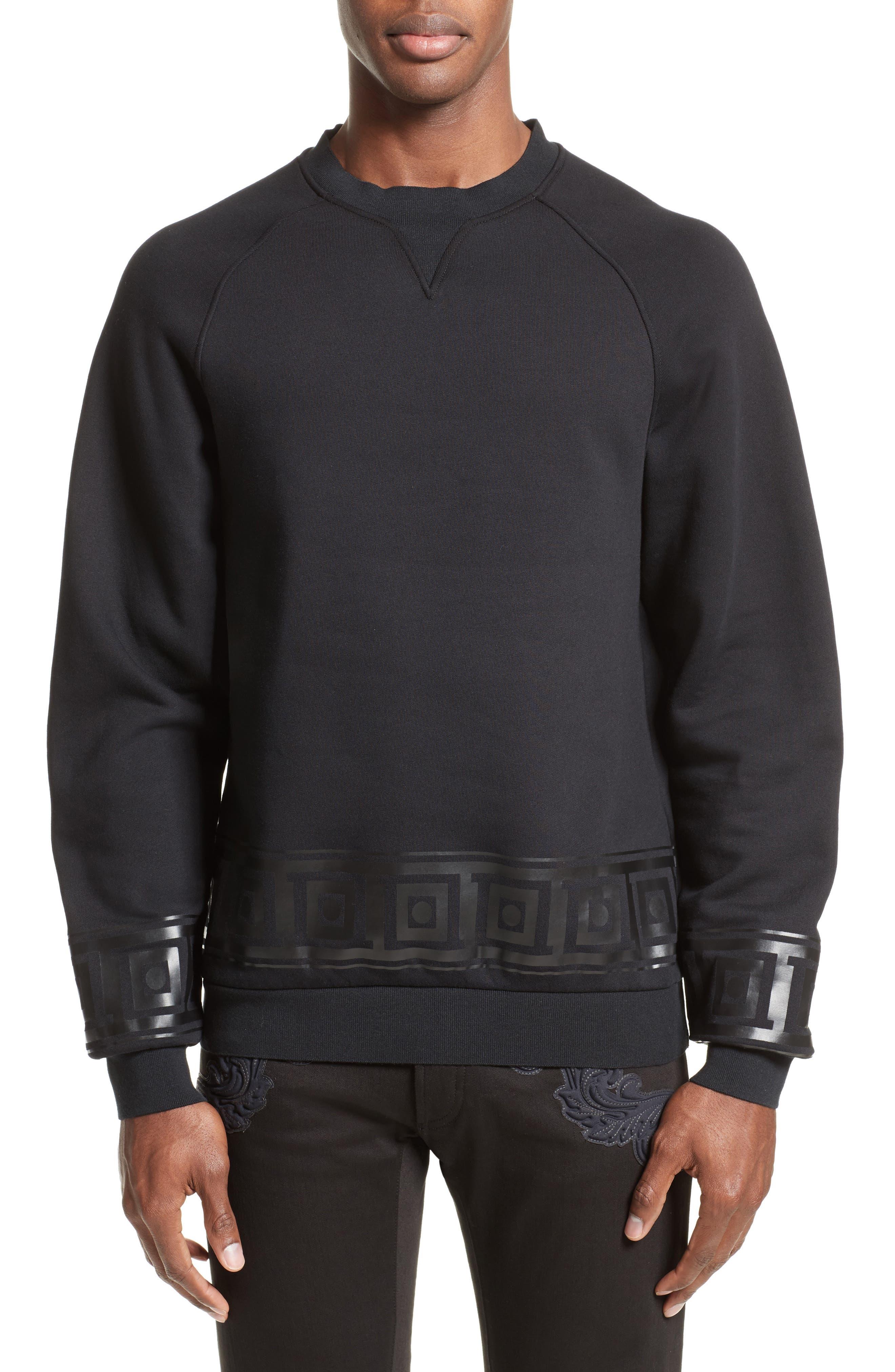 Versace Collection Frame Print Sweatshirt