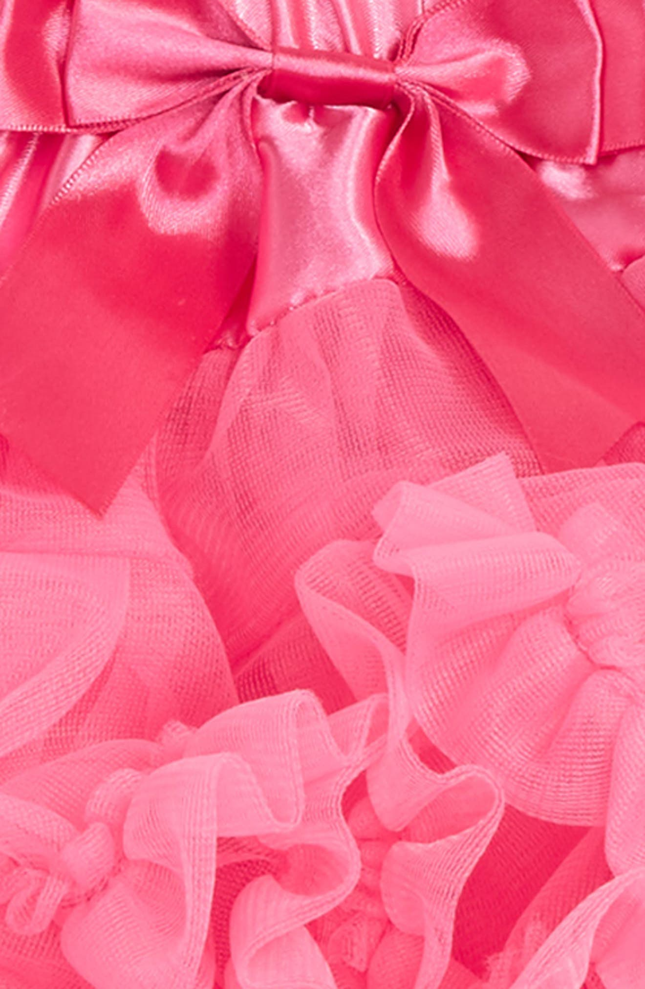Alternate Image 2  - Popatu Tutu & Floral Appliqué Head Wrap Set (Baby Girls)