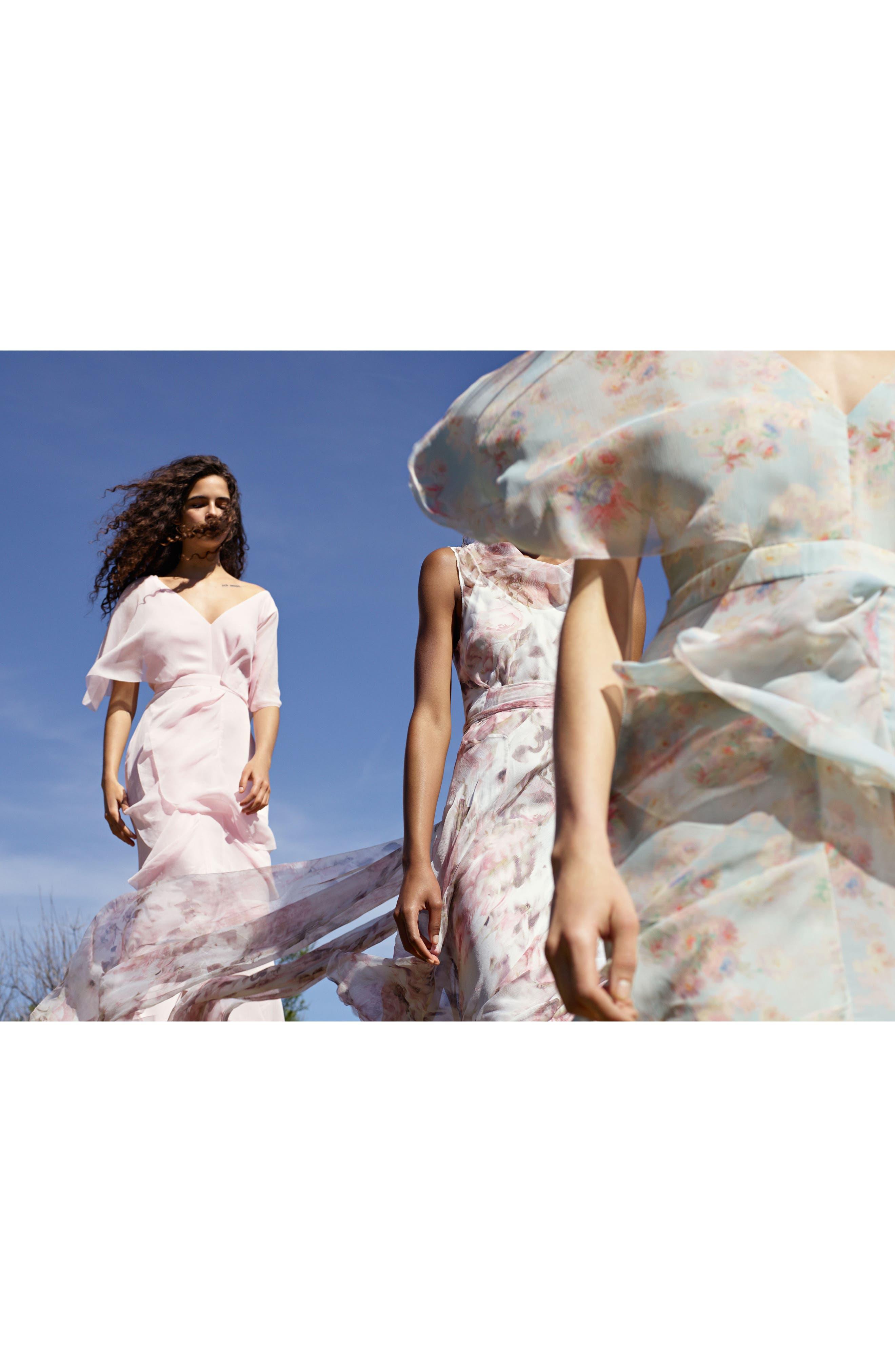 Alternate Image 7  - Topshop Bride Cascade Gown