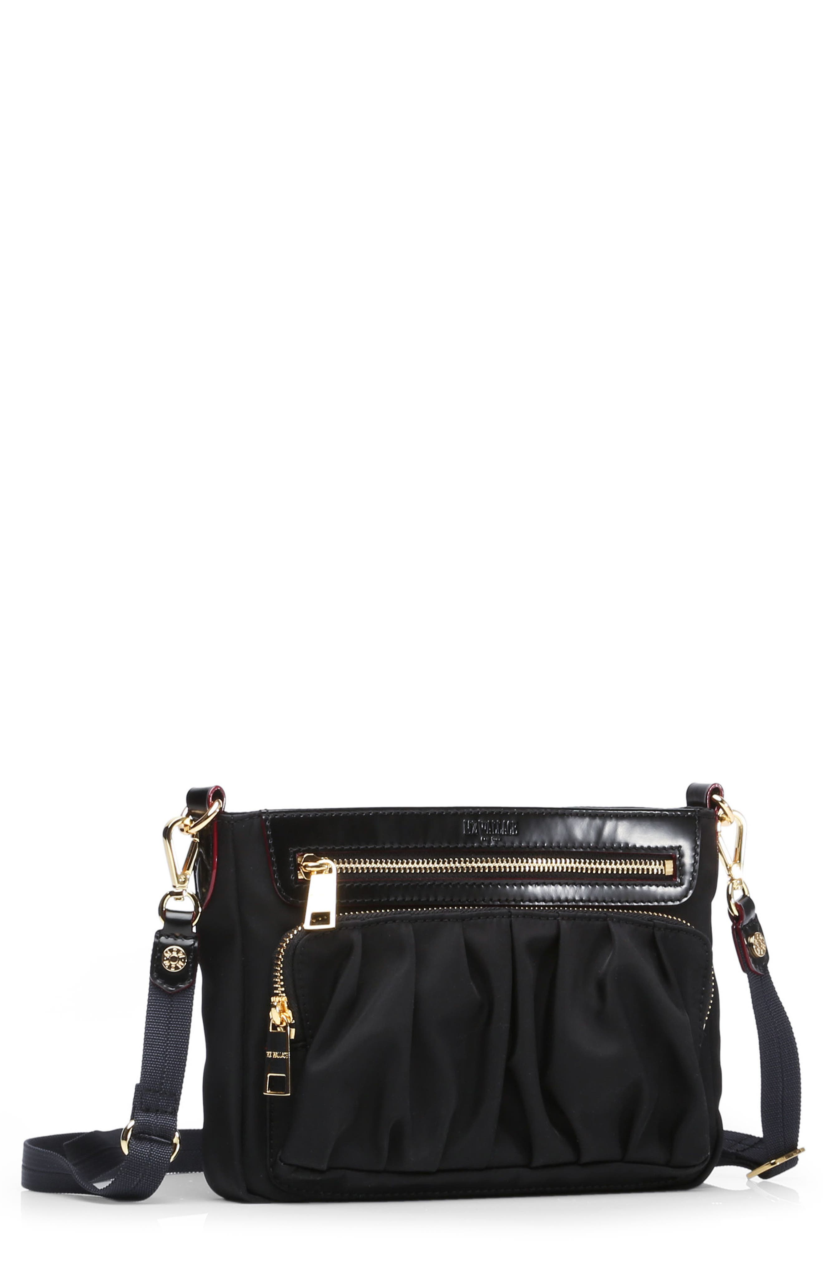 MZ WALLACE Abbey Bedford Nylon Crossbody Bag