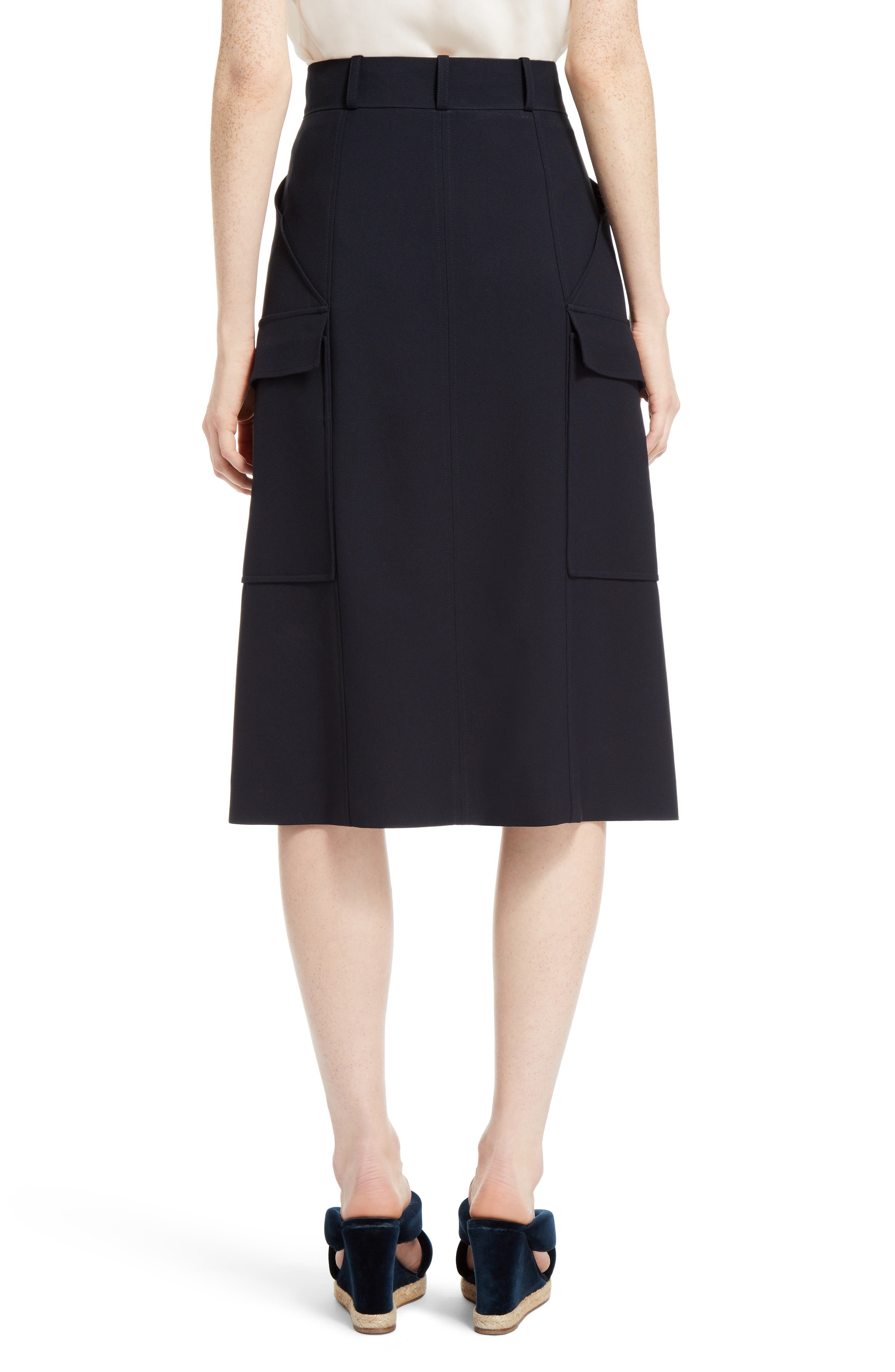 Cady Skirt,                             Alternate thumbnail 2, color,                             Blue