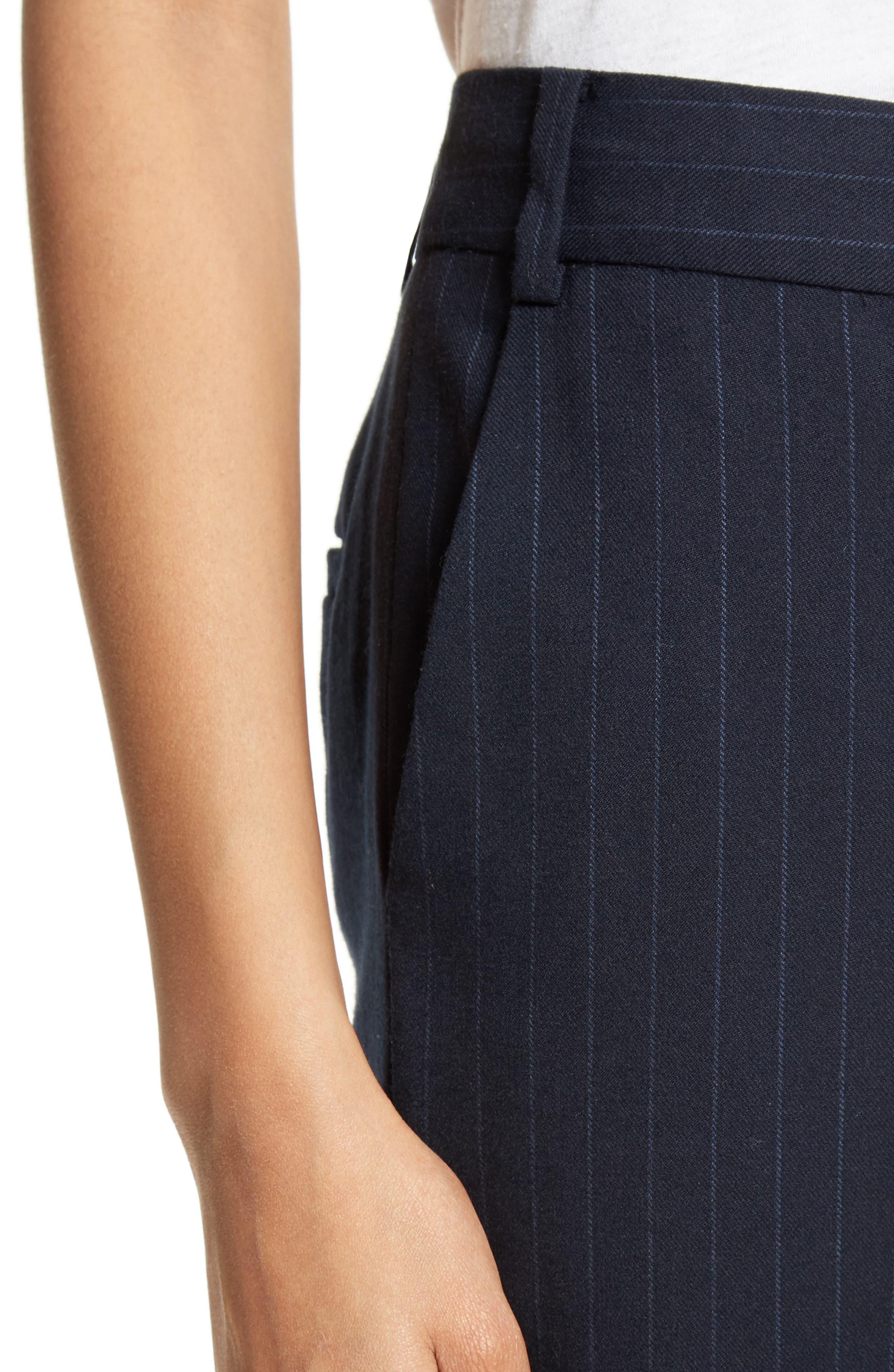 Delmont Bootcut Pants,                             Alternate thumbnail 5, color,                             Navy/ Cobalt