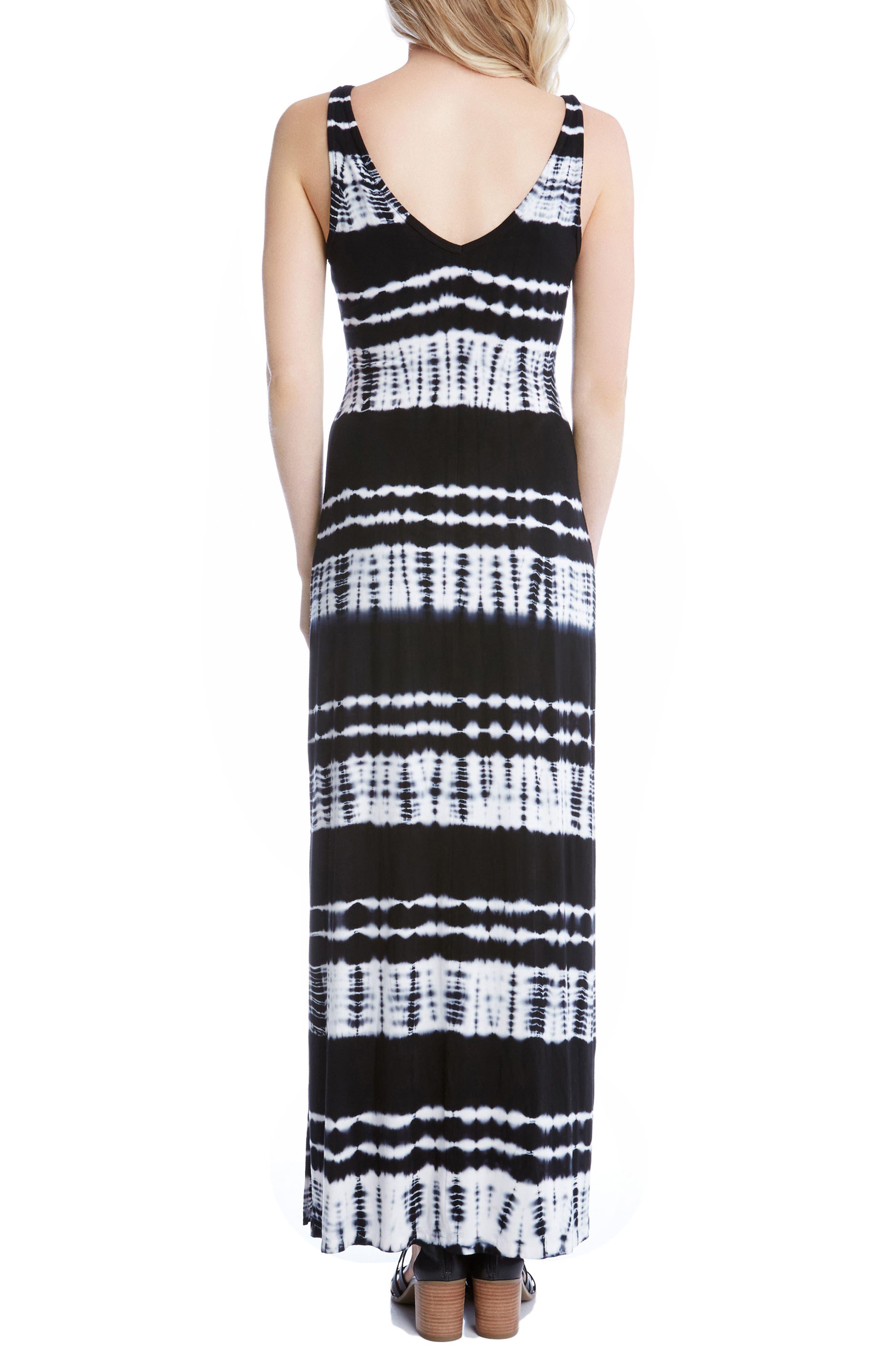 Alternate Image 2  - Karen Kane Alana Tie Dye Maxi Dress