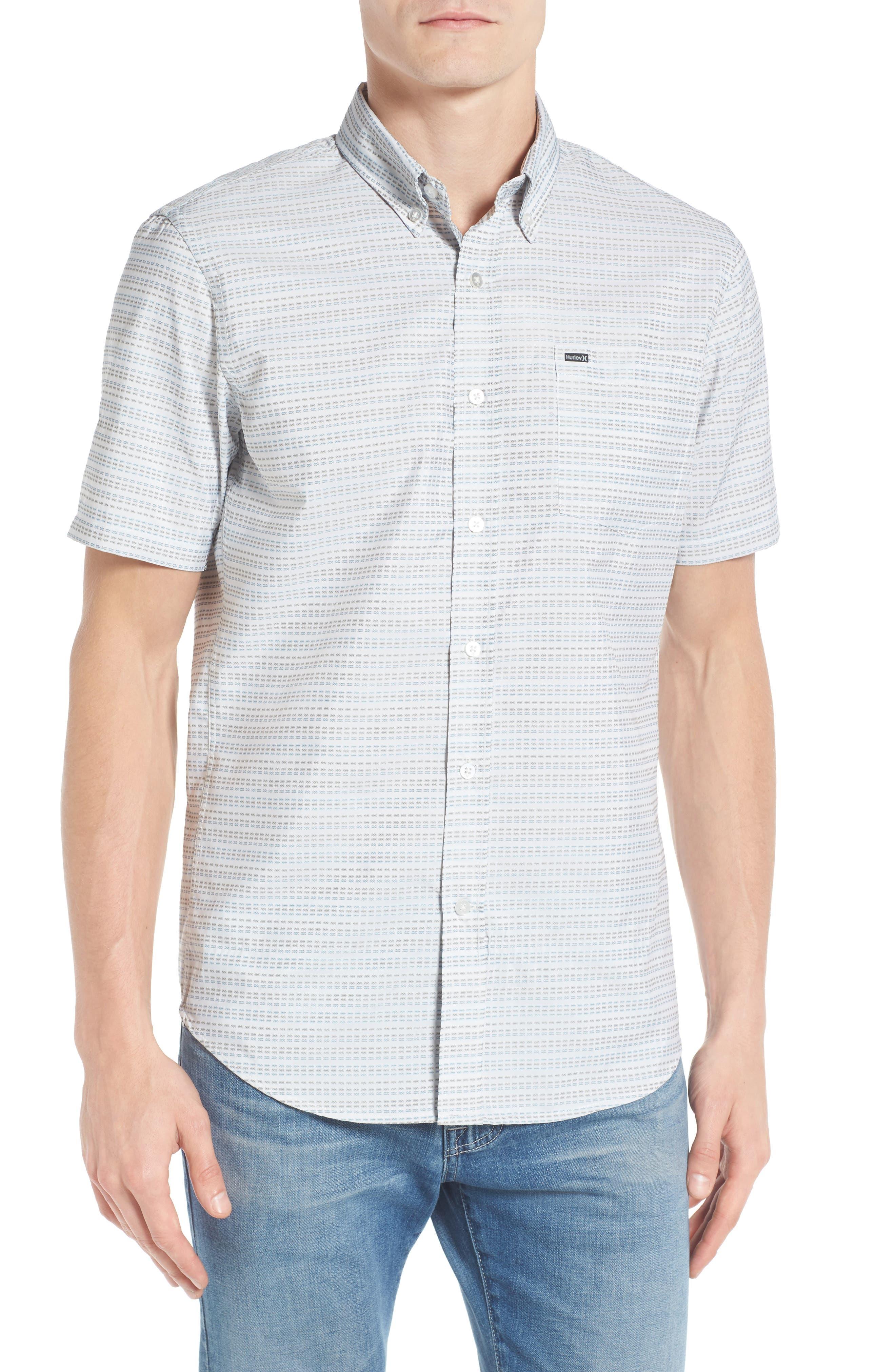 HURLEY Sound Dri-FIT Print Woven Shirt