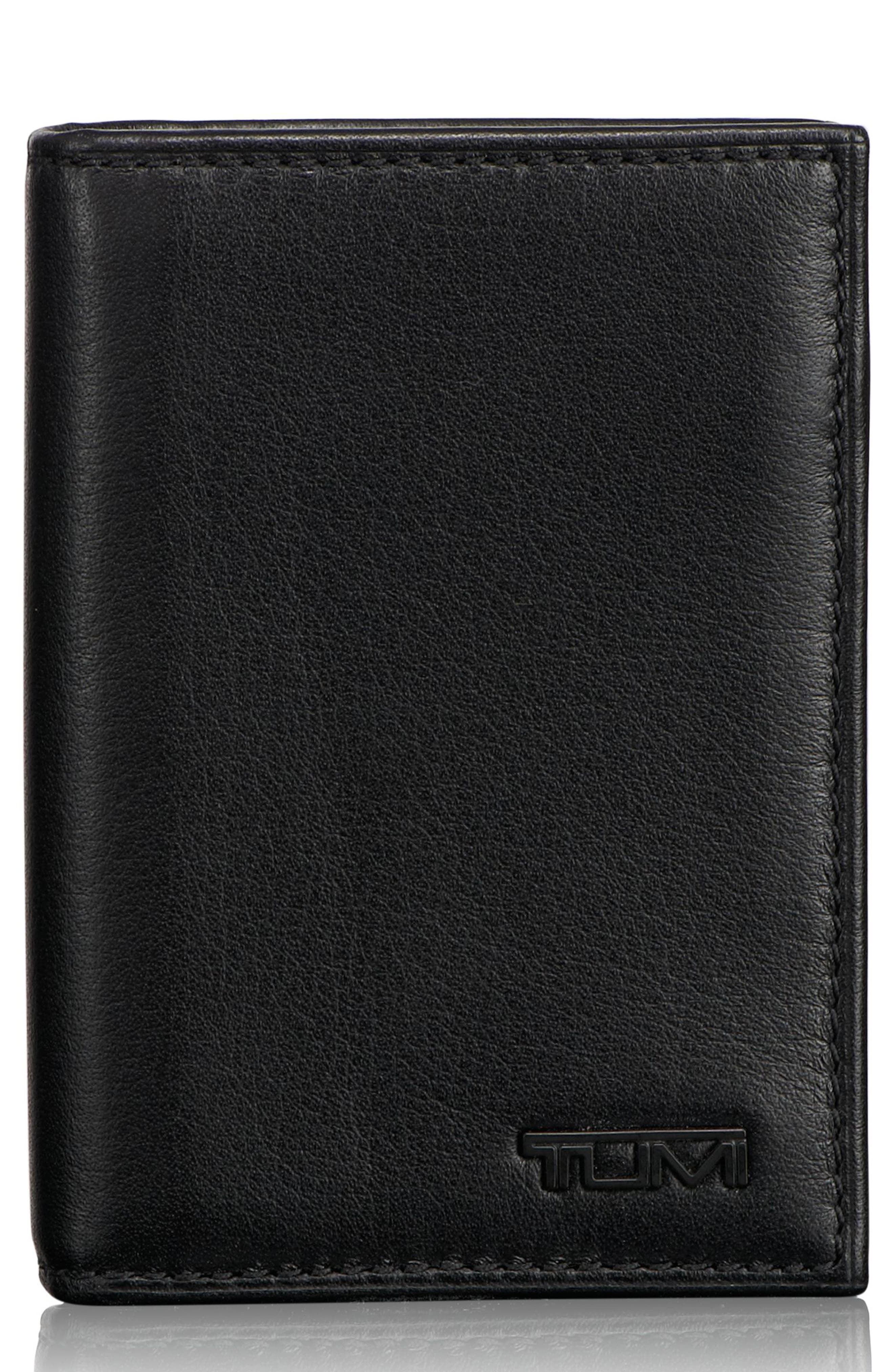 Delta - ID Lock<sup>™</sup> Shielded Card & ID Case,                             Main thumbnail 1, color,                             Black