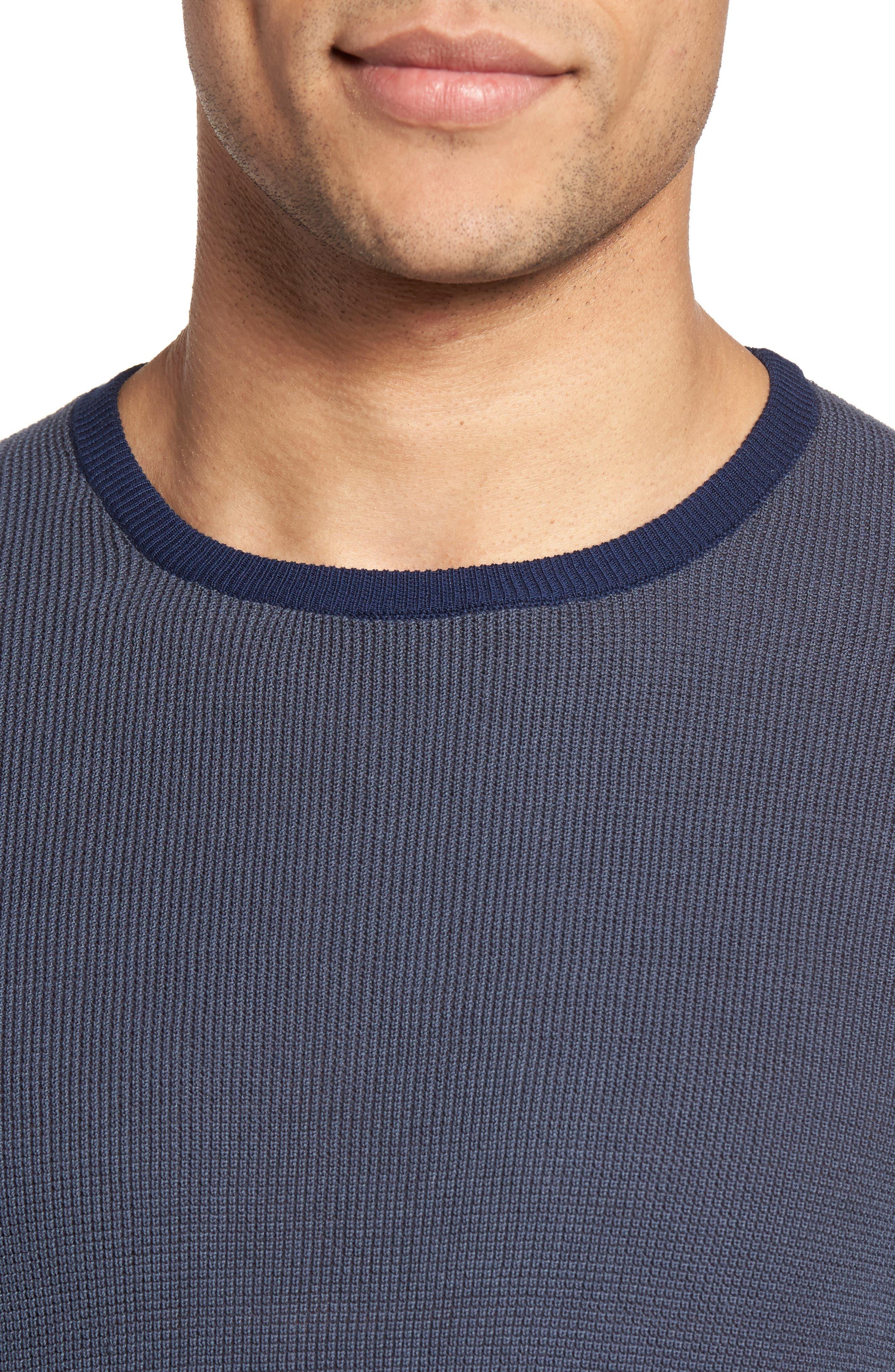 Boxwood Sweater,                             Alternate thumbnail 4, color,                             Ocean
