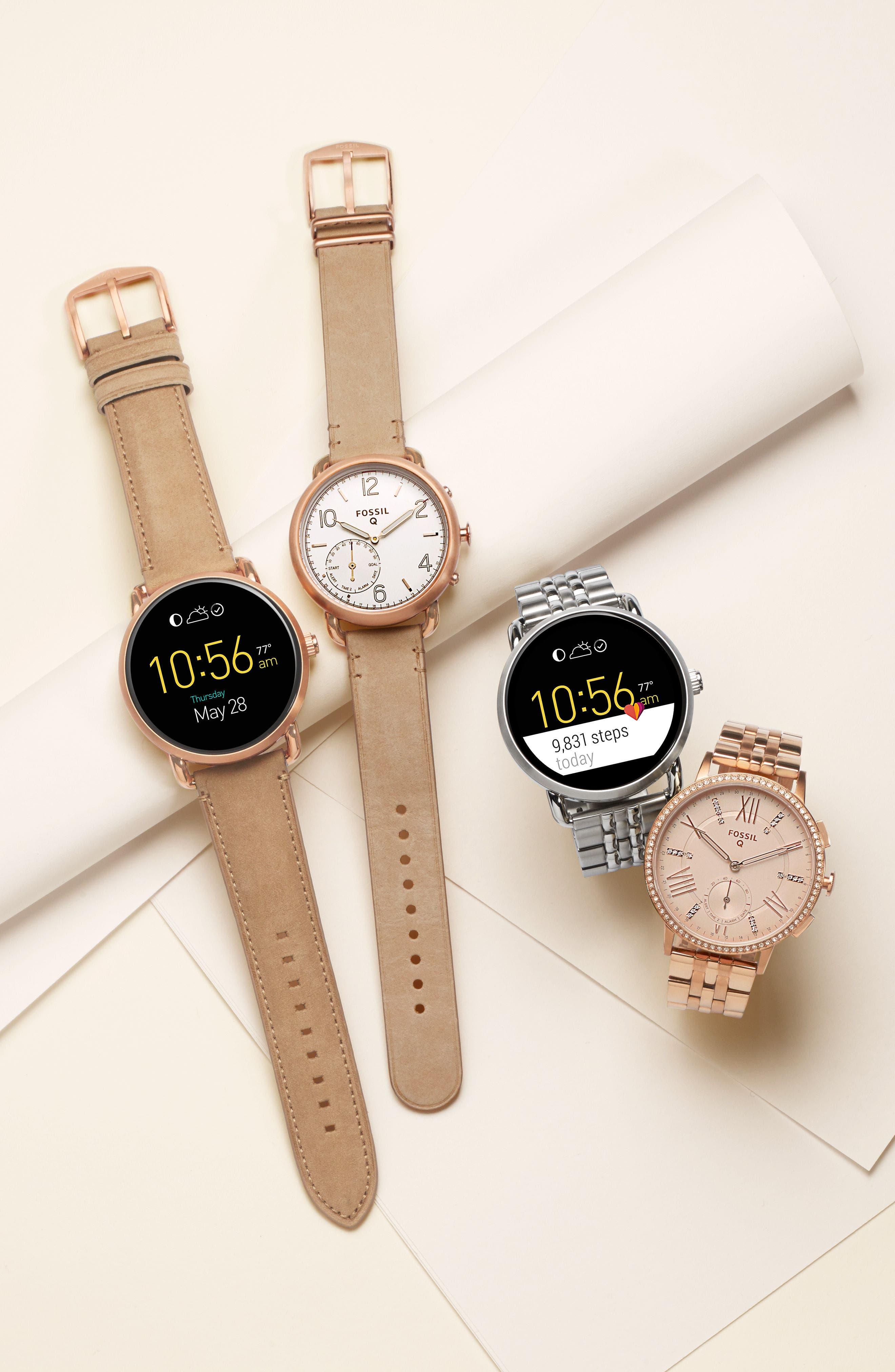 Alternate Image 9  - Fossil Q Wander Digital Smart Bracelet Watch, 45mm
