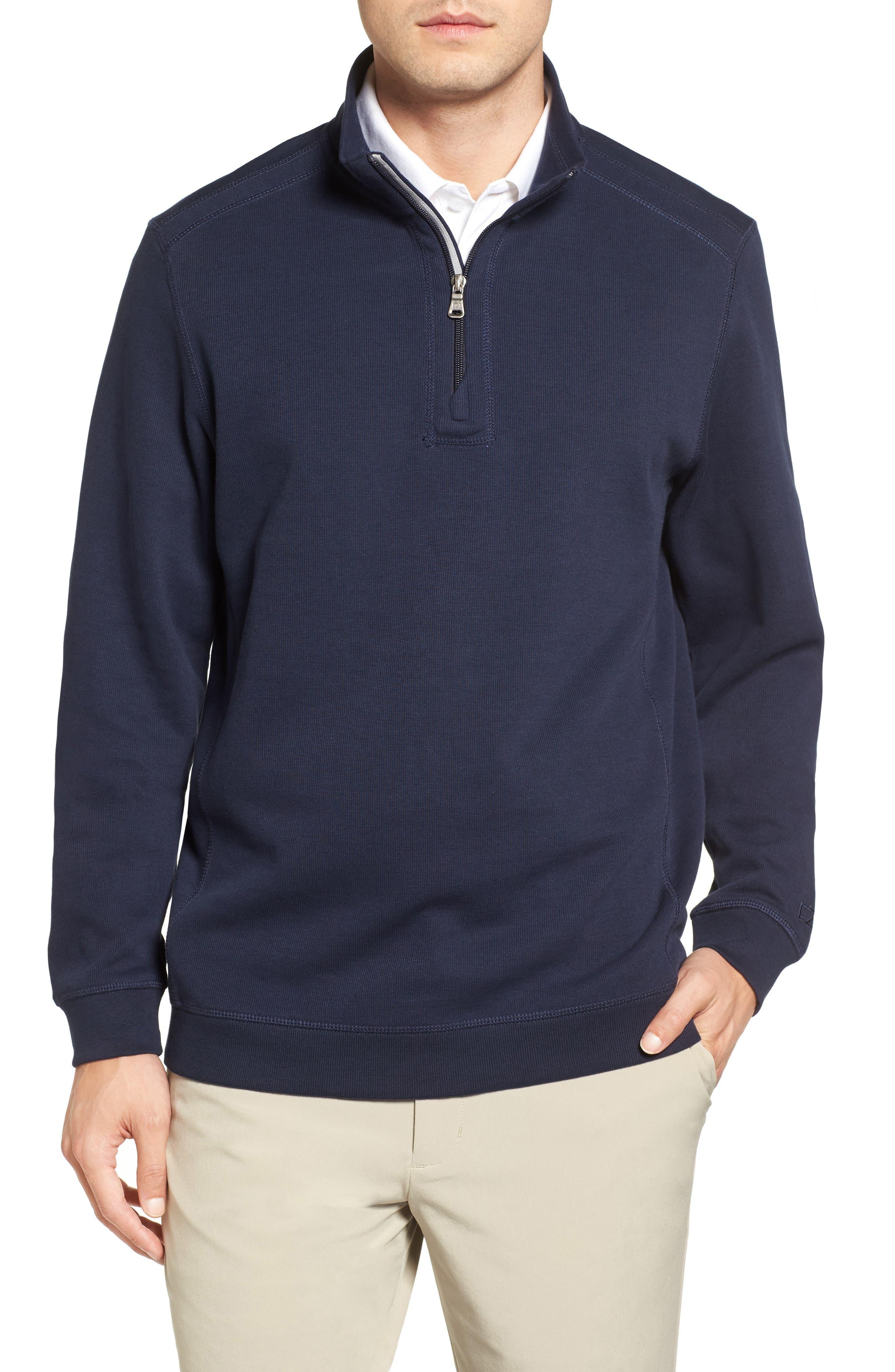 Main Image - Cutter & Buck Bayview Quarter Zip Pullover