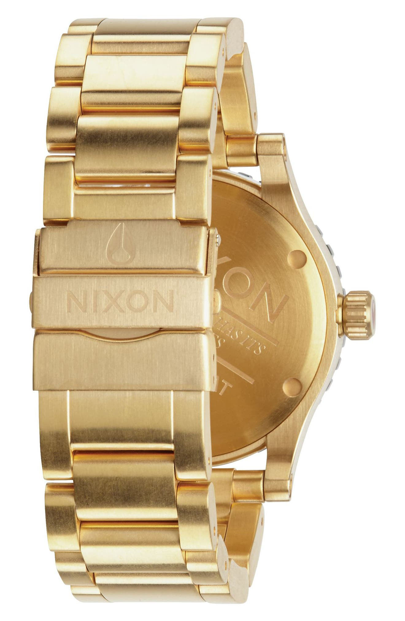 Alternate Image 2  - Nixon The Diplomat Bracelet Watch, 45mm
