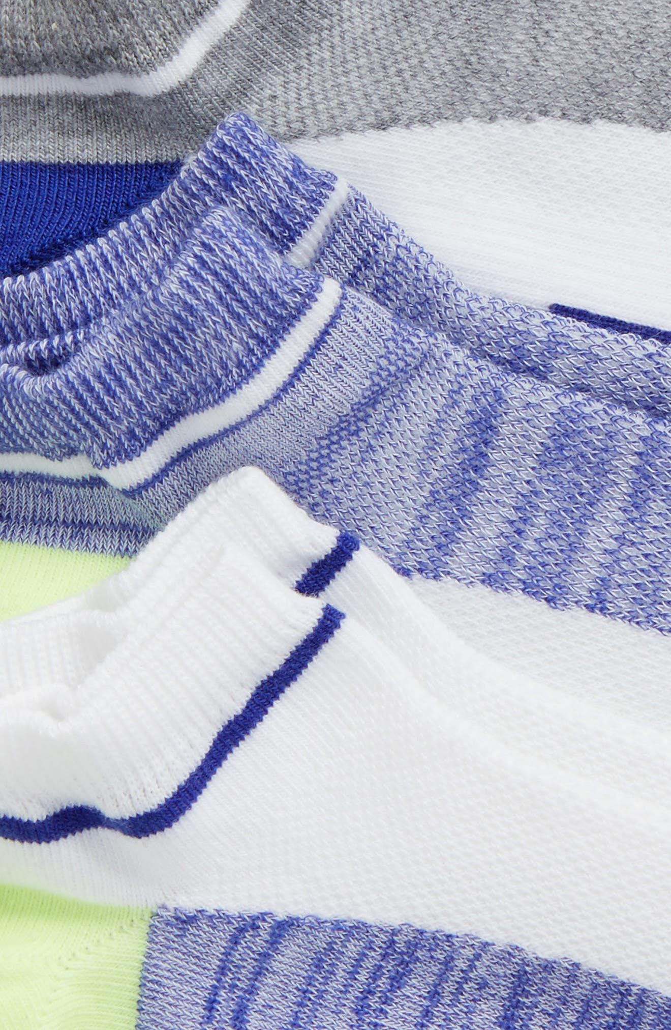 Alternate Image 2  - Zella 'Fitness' Liner Socks (3-Pack)