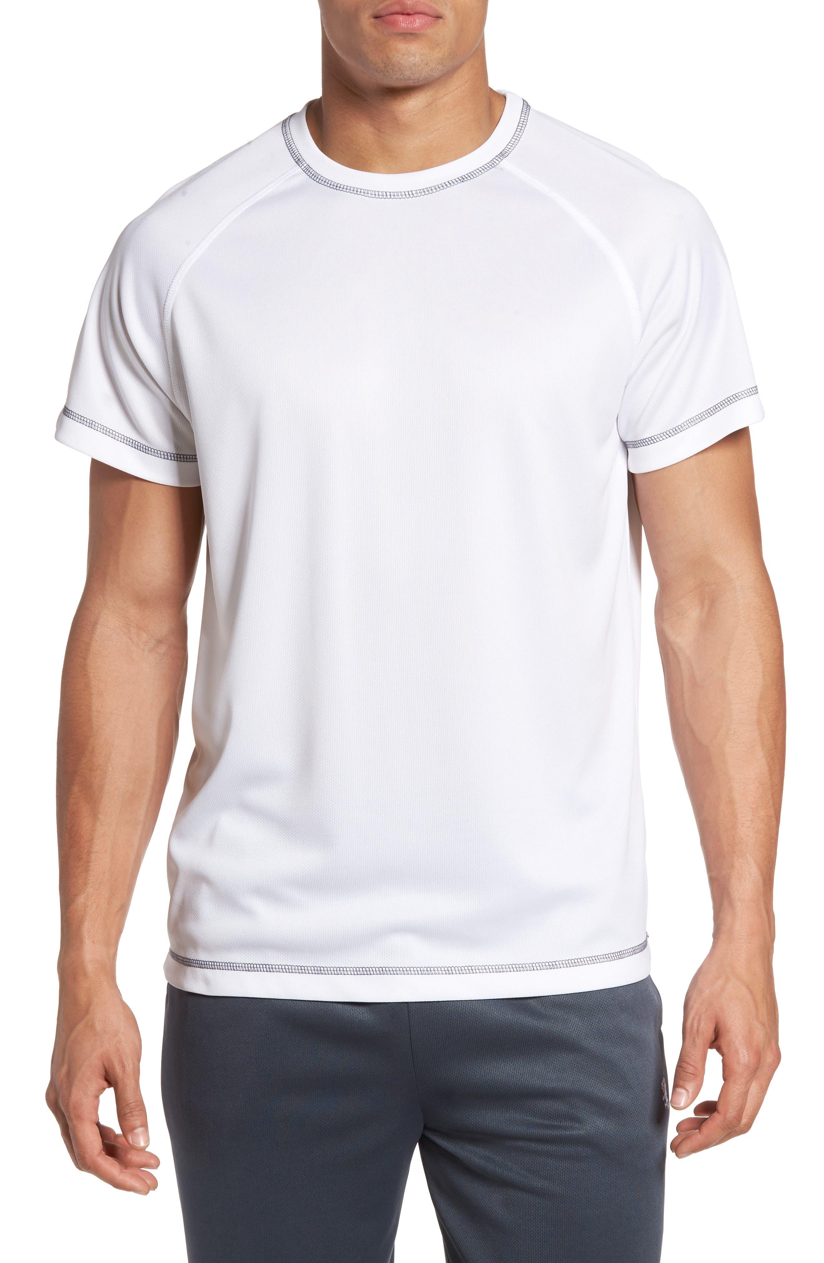 Majestic International Work Out Crewneck T-Shirt