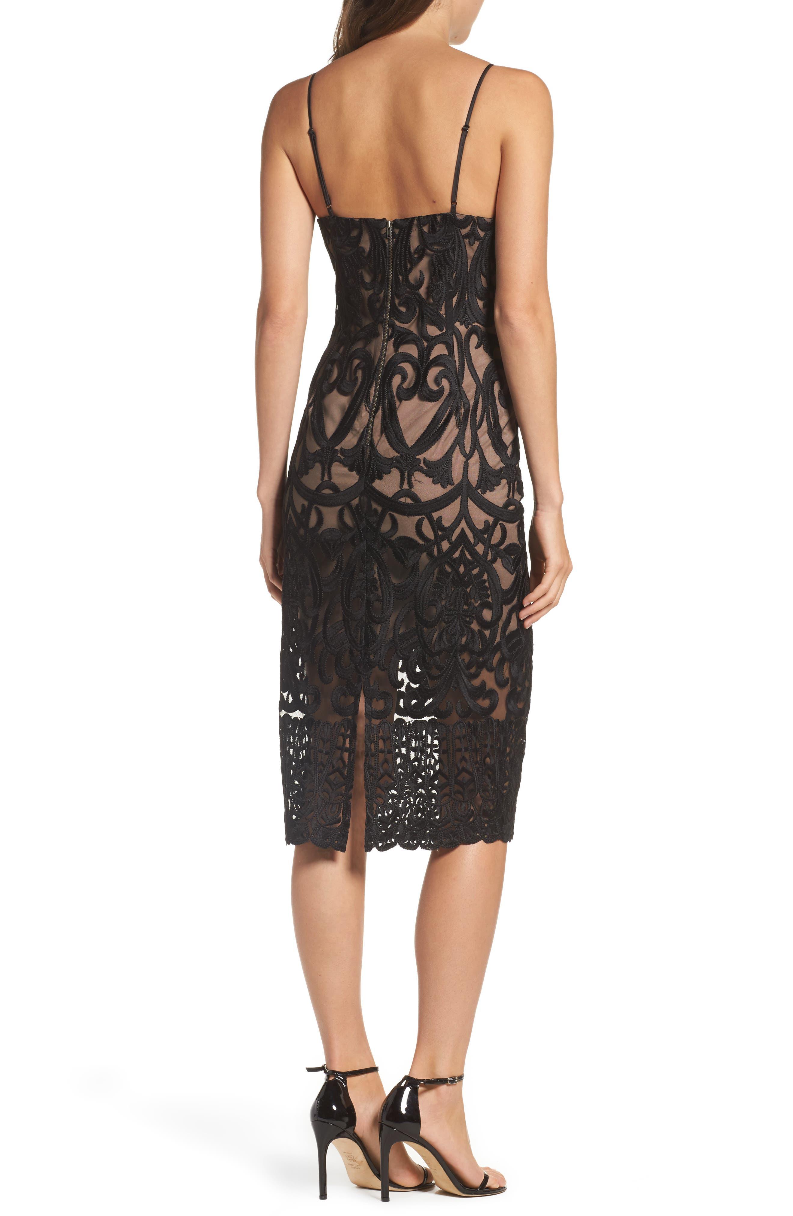 Alternate Image 2  - Bardot Gia Lace Pencil Dress