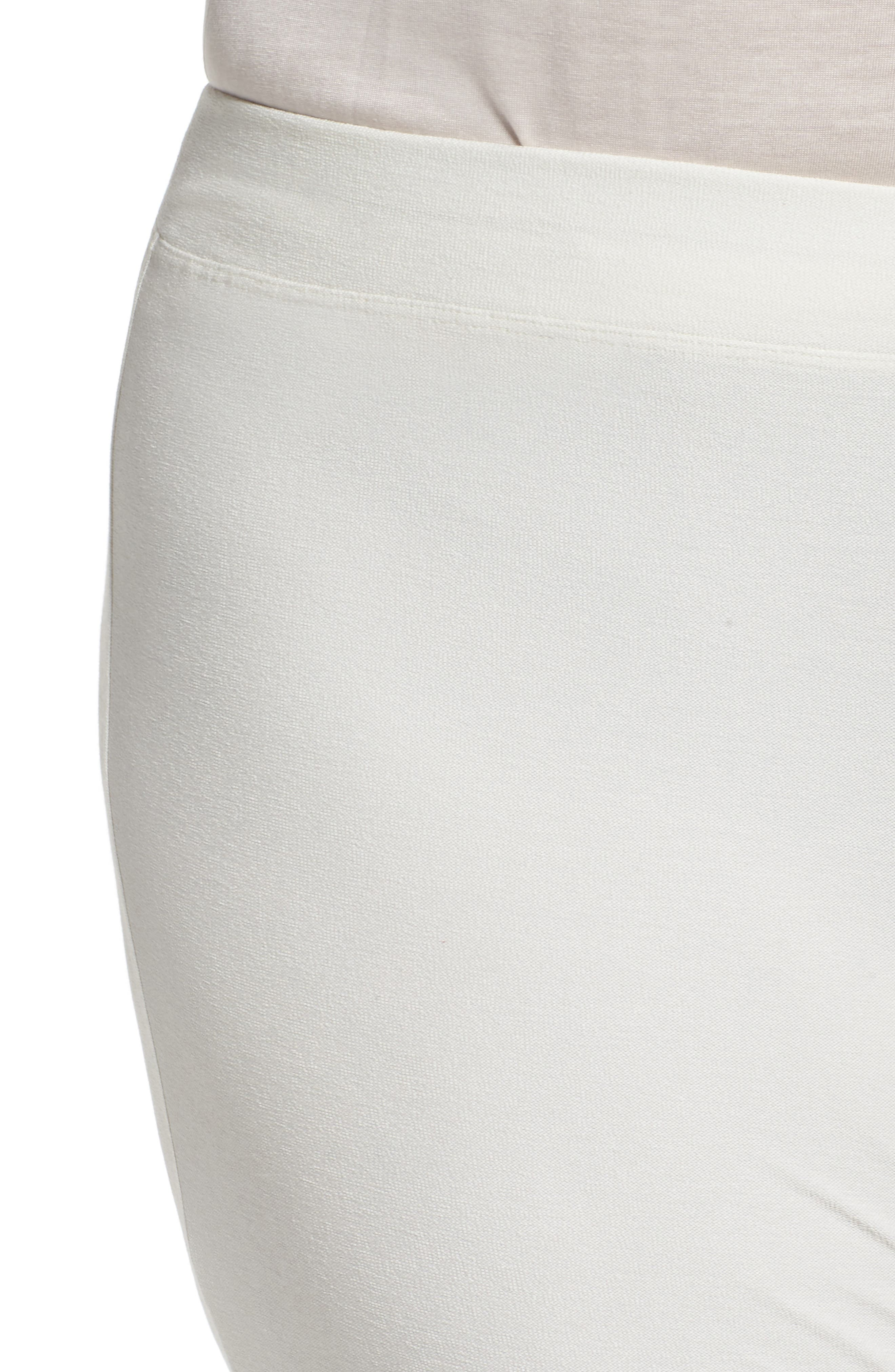 Alternate Image 4  - Eileen Fisher Crepe Ankle Pants (Plus Size)