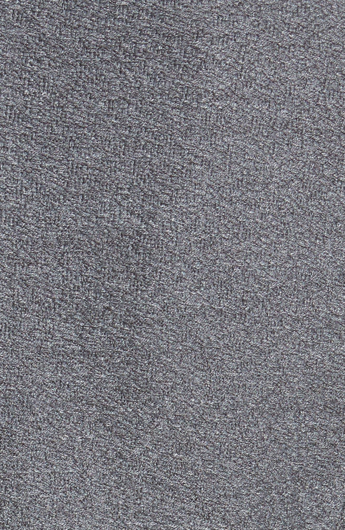 Clair Grommet Detail Knit Jacket,                             Alternate thumbnail 6, color,                             Flint