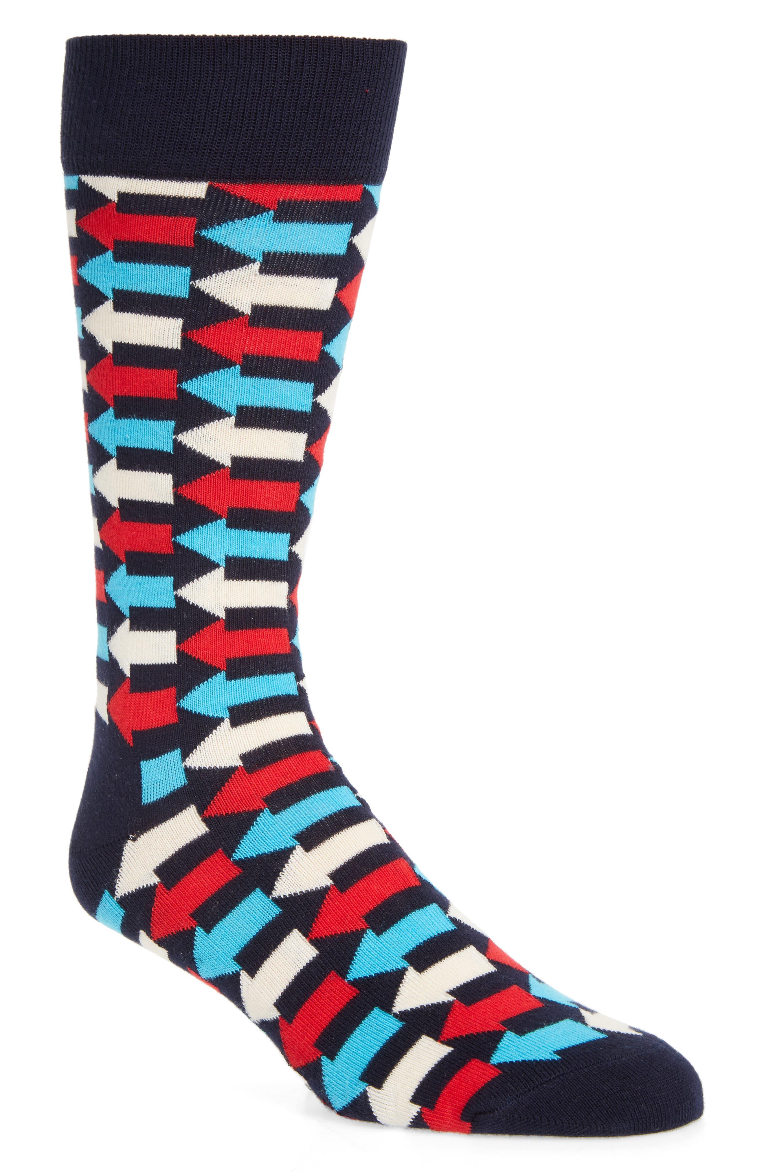 Main Image - Happy Socks Direction Socks (3 for $30)