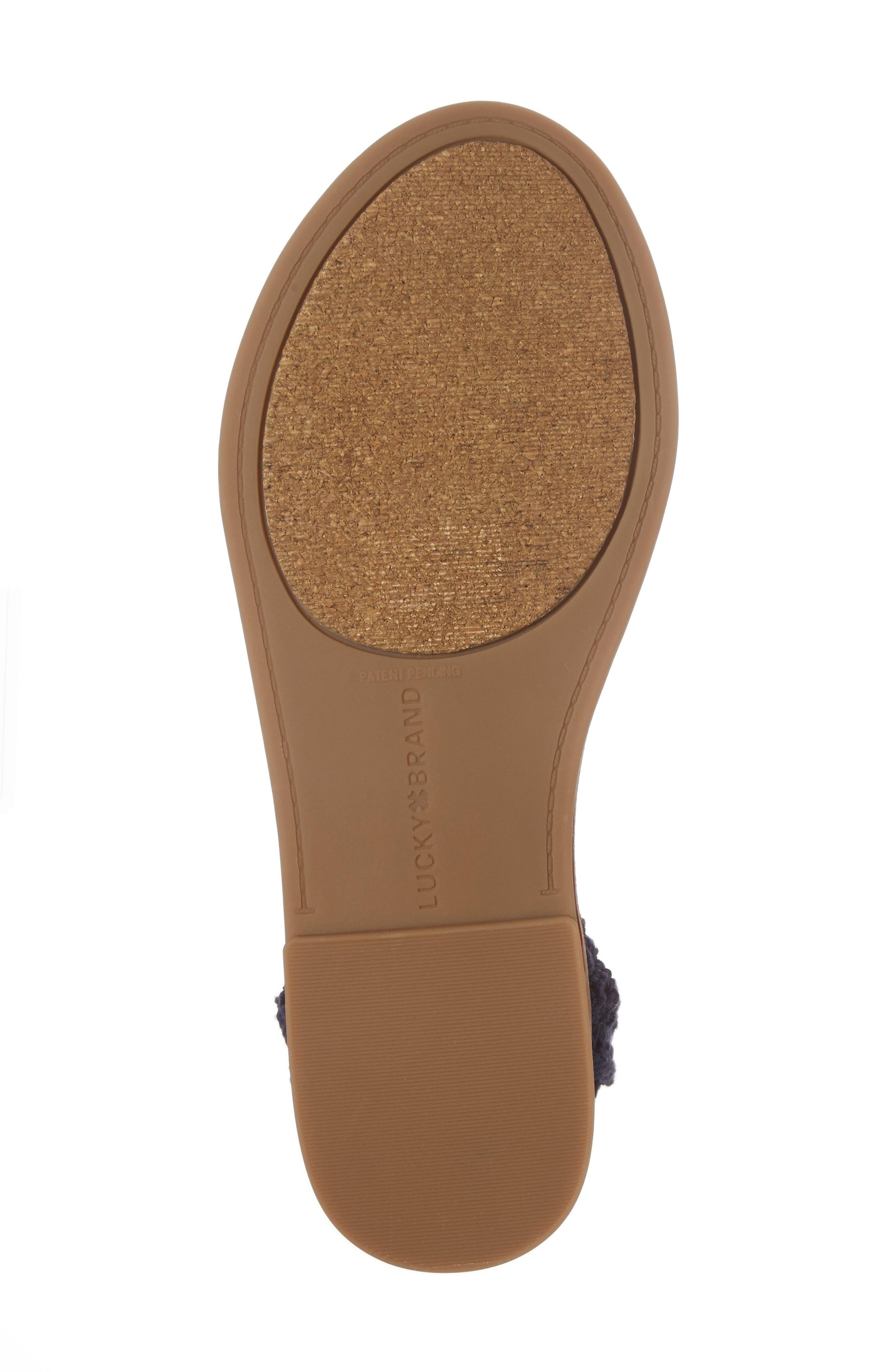 Alternate Image 6  - Lucky Brand Ariah Ankle Tie Sandal (Women)