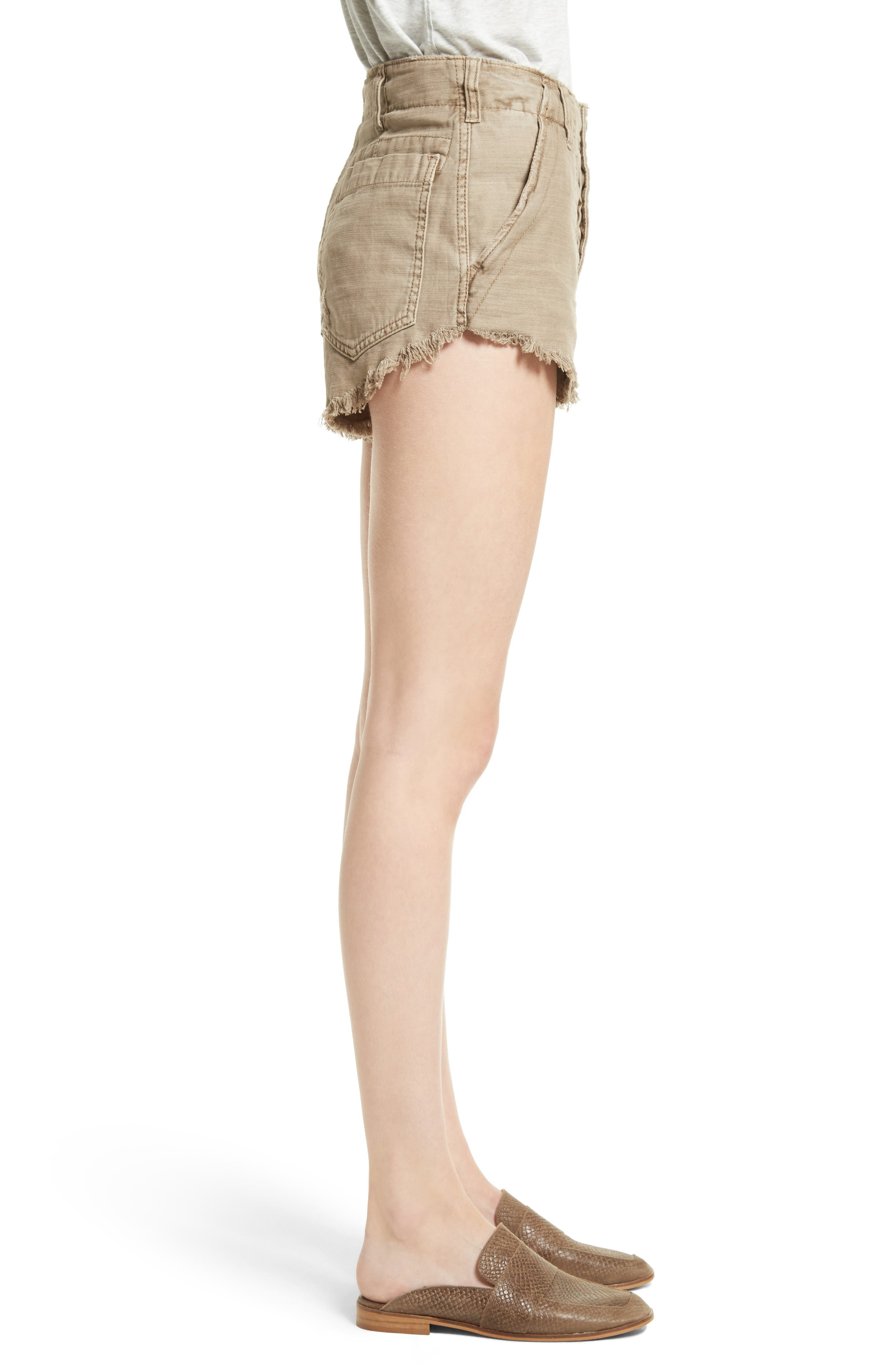 Alternate Image 3  - Free People Standoff Cutoff Shorts