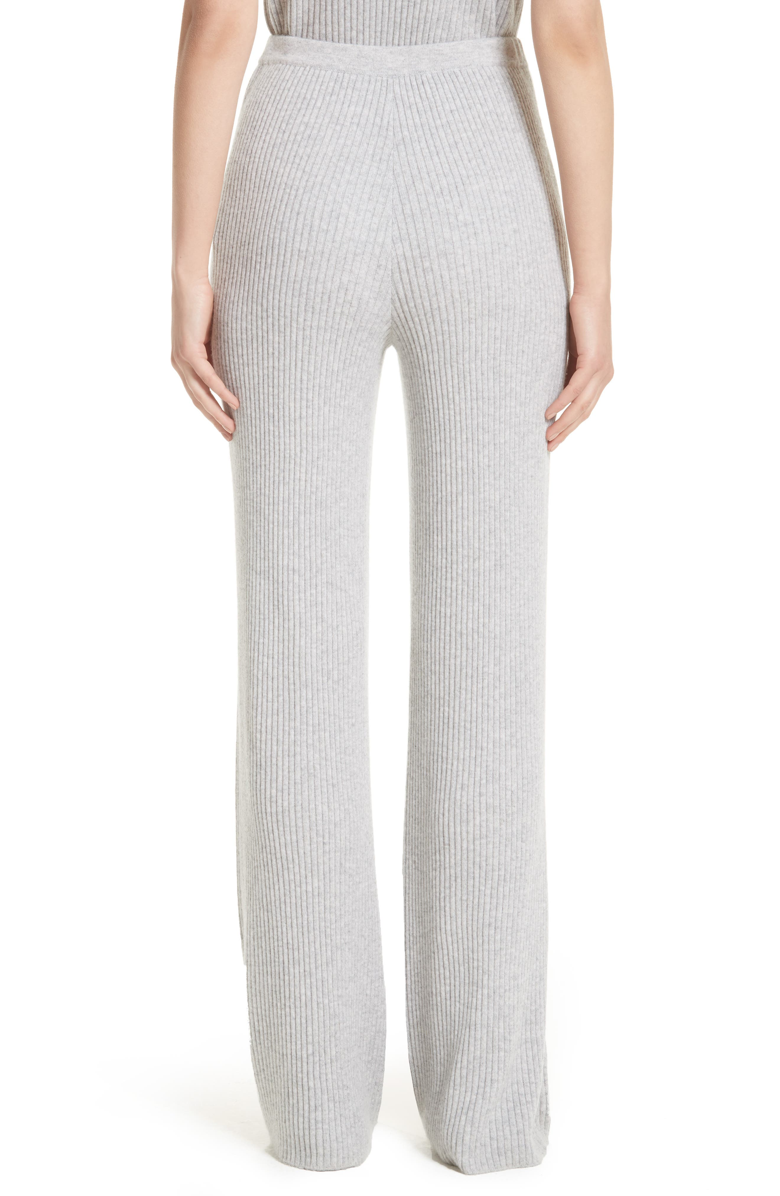 Alternate Image 2  - St. John Collection Cashmere Knit Pants