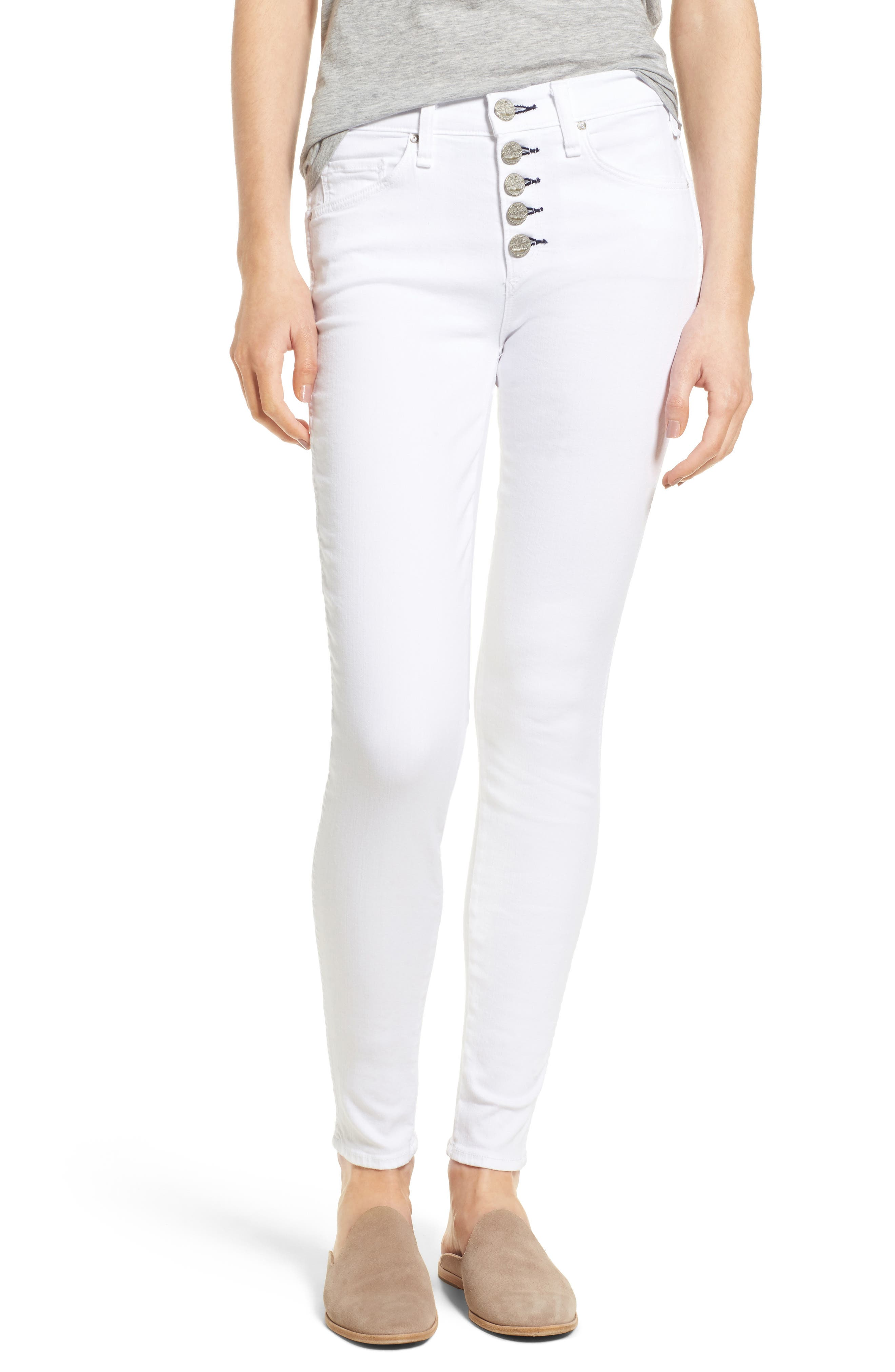 McGuire Newton Skinny Jeans (White Realm)