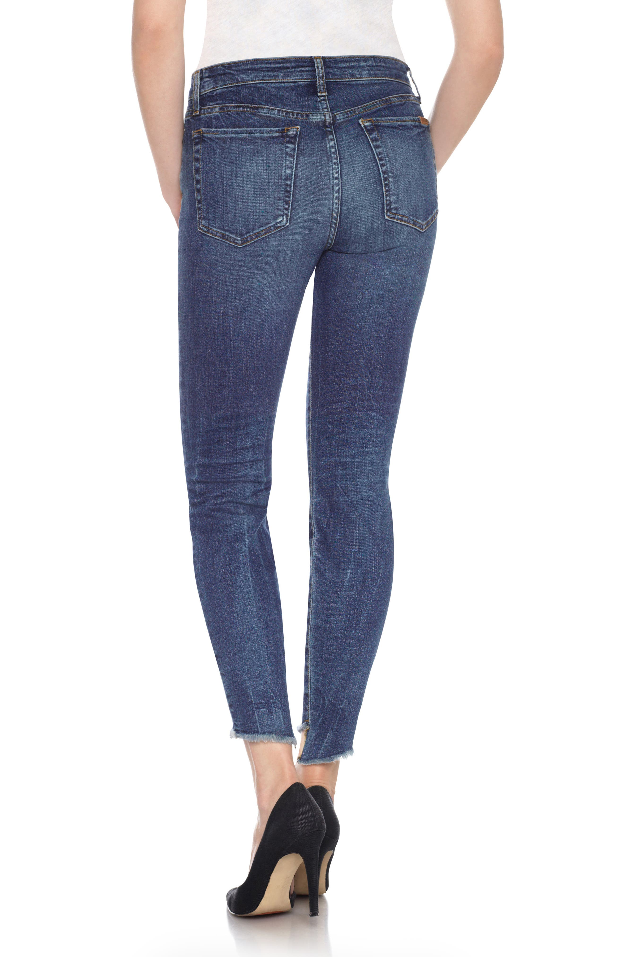 Alternate Image 3  - Joe's Charlie - Blondie High Rise Ankle Skinny Jeans (Kody)
