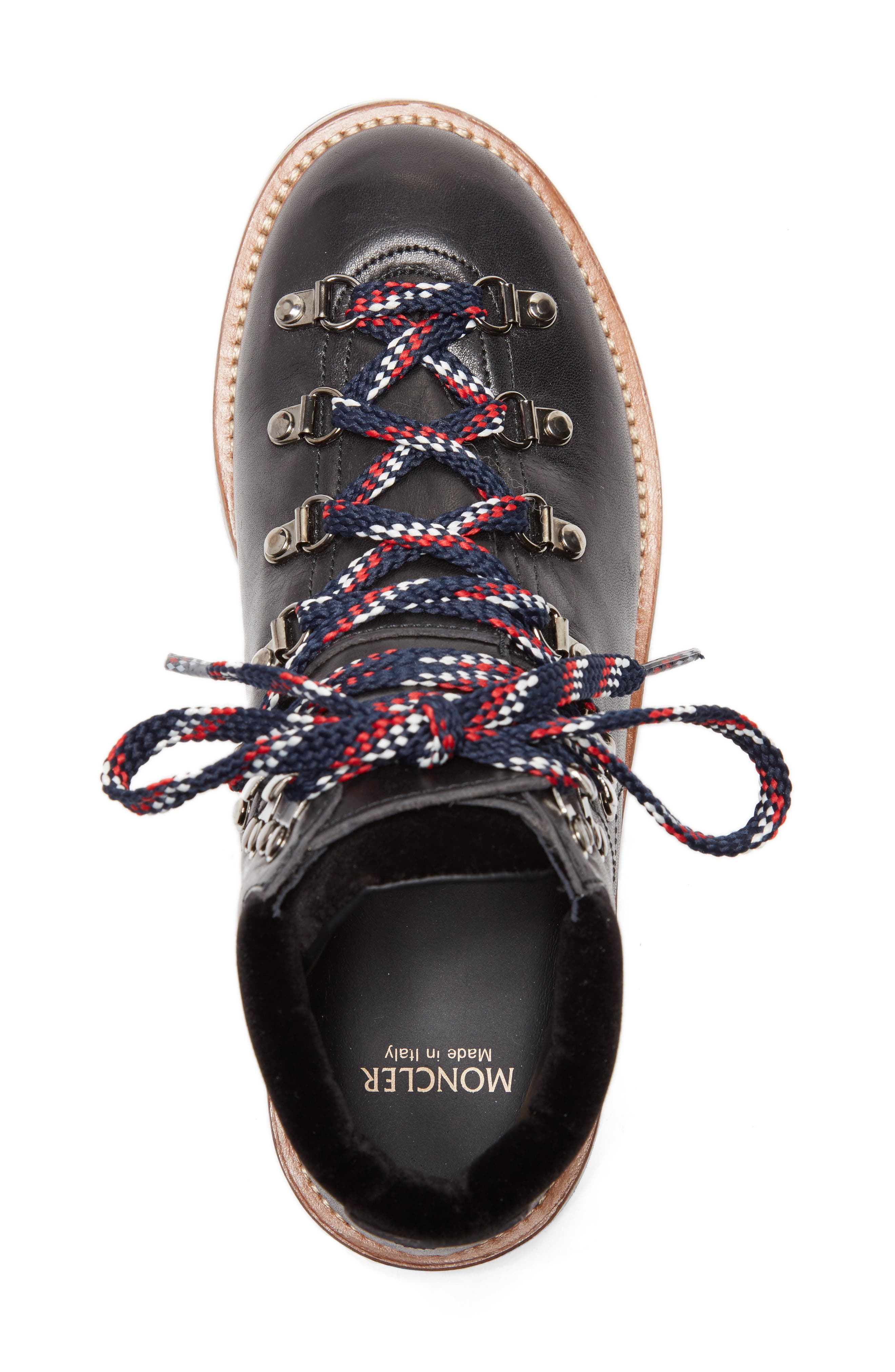 Alternate Image 5  - Moncler Blanche Lace-up Boot (Women)