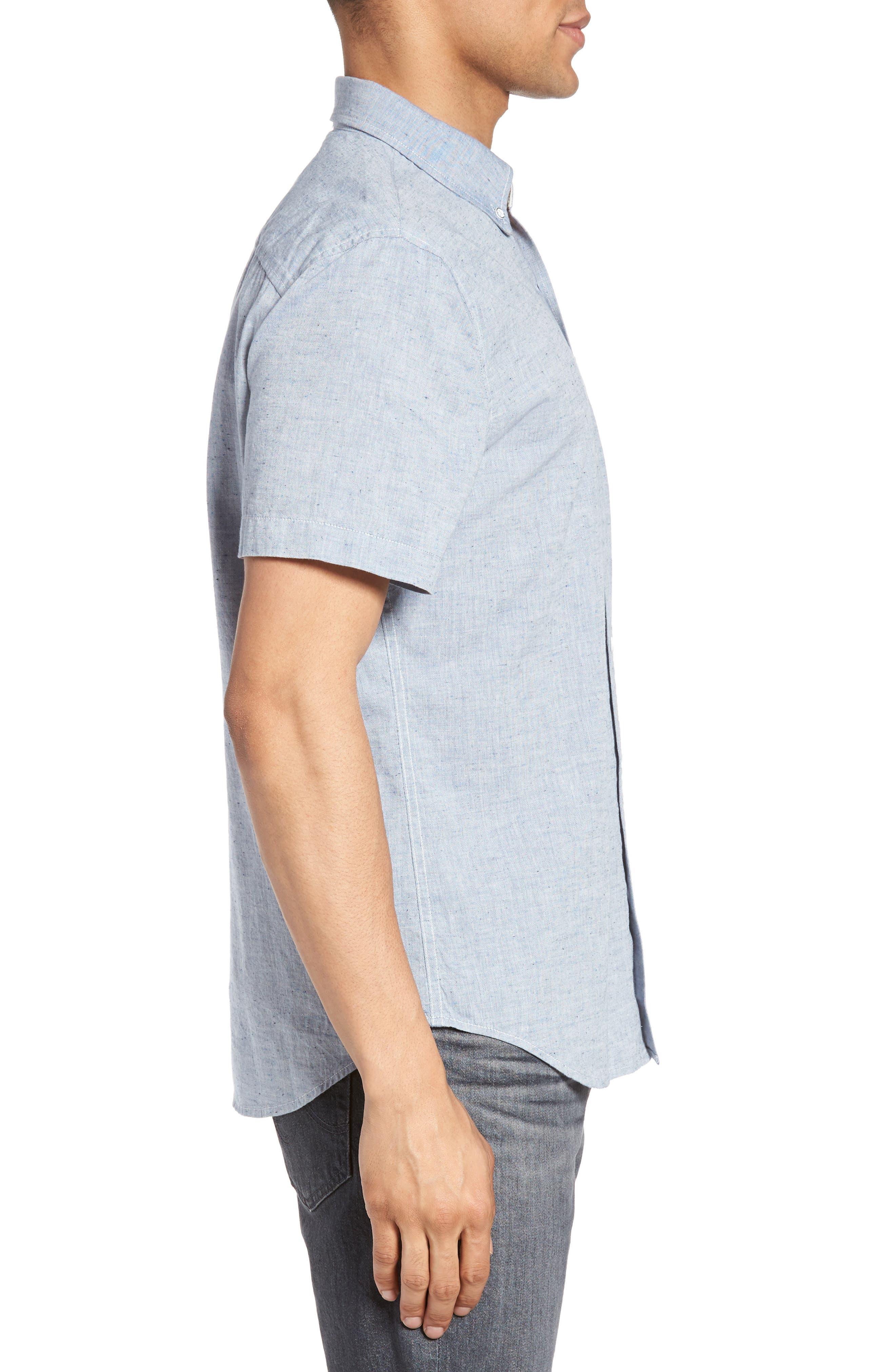 Alternate Image 3  - AG Nash Slub Cotton Shirt