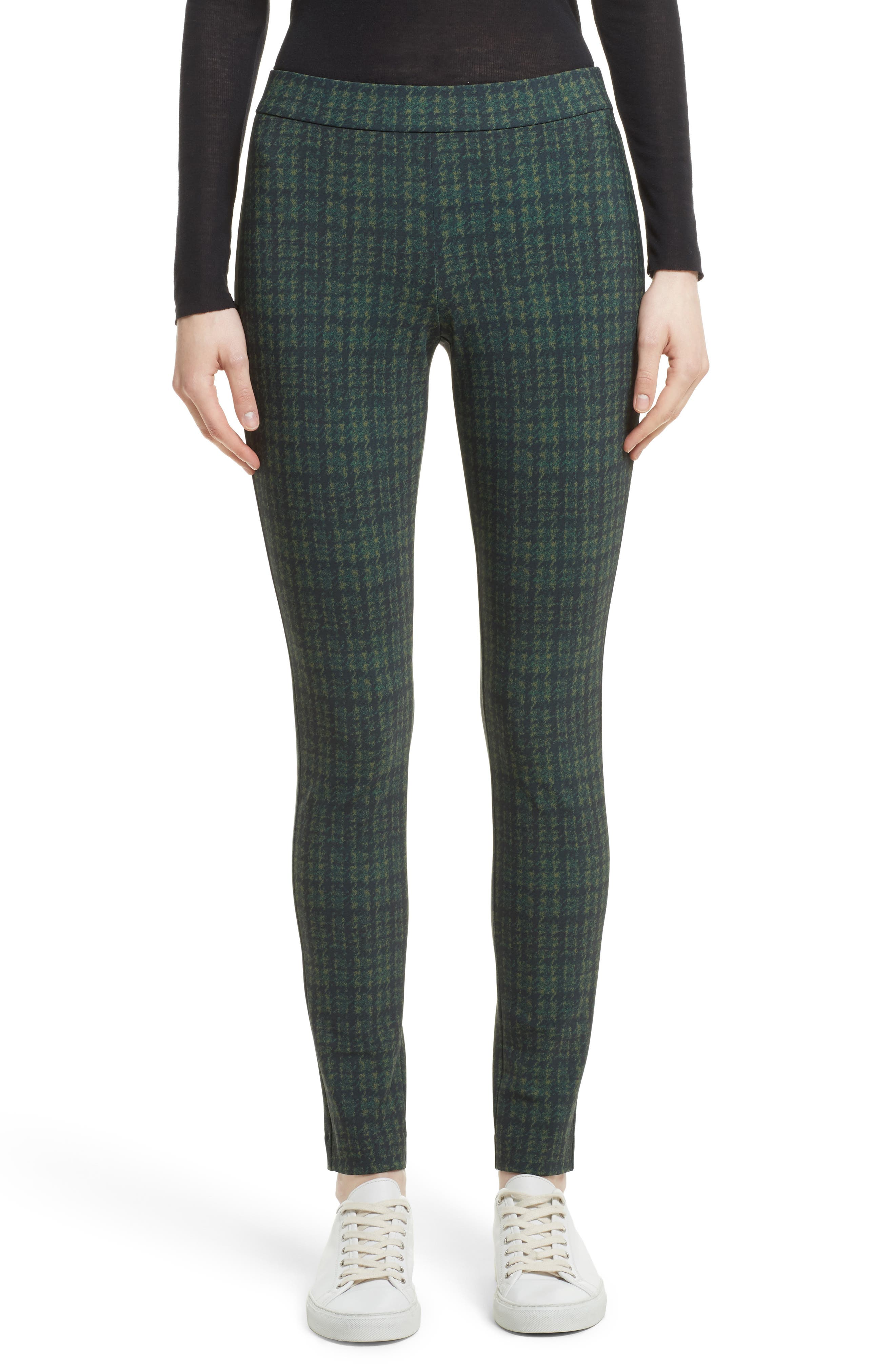 Alternate Image 1 Selected - Theory Adbelle Plaid Stretch Legging