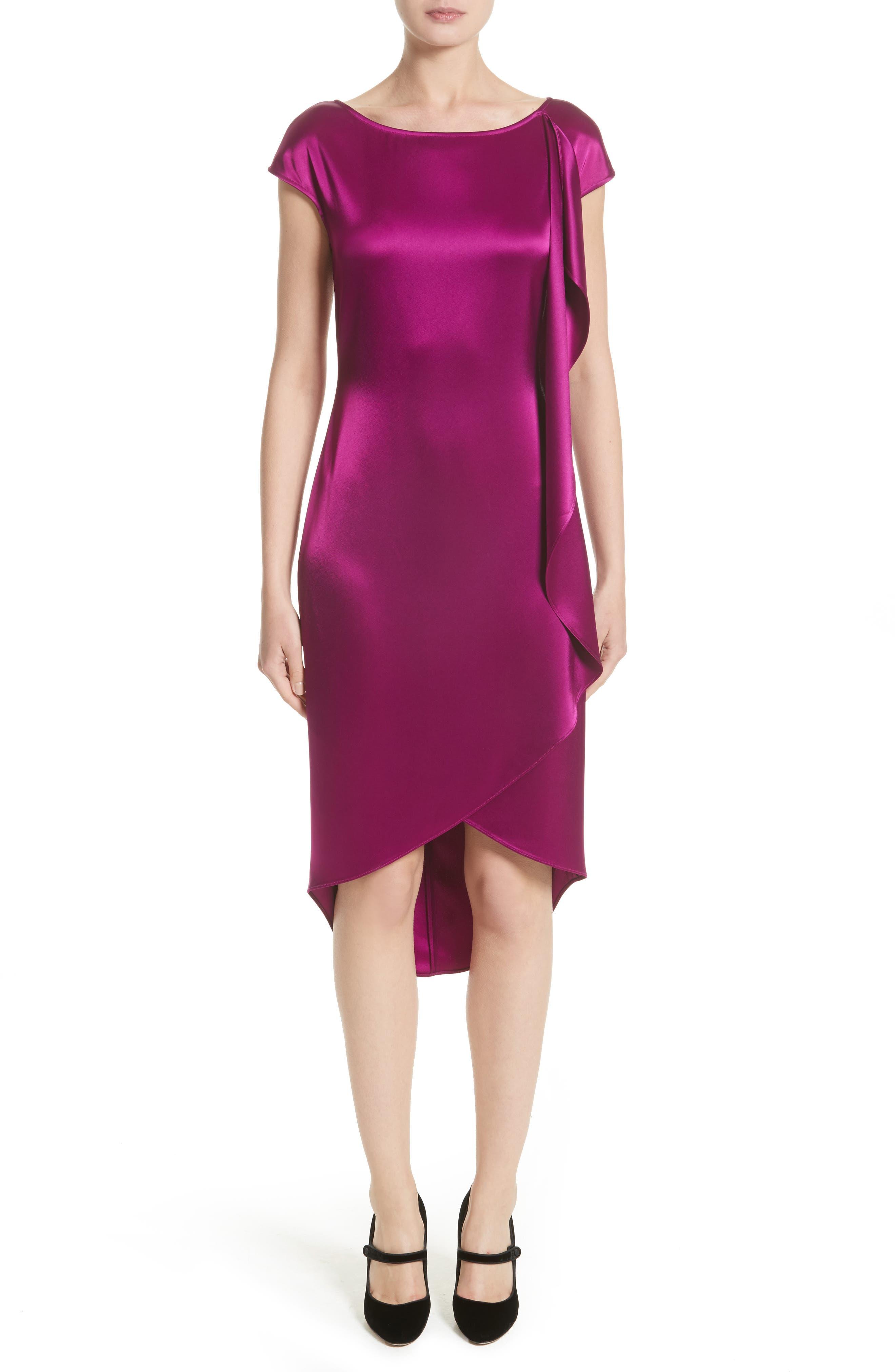 St. John Collection Liquid Satin Dress