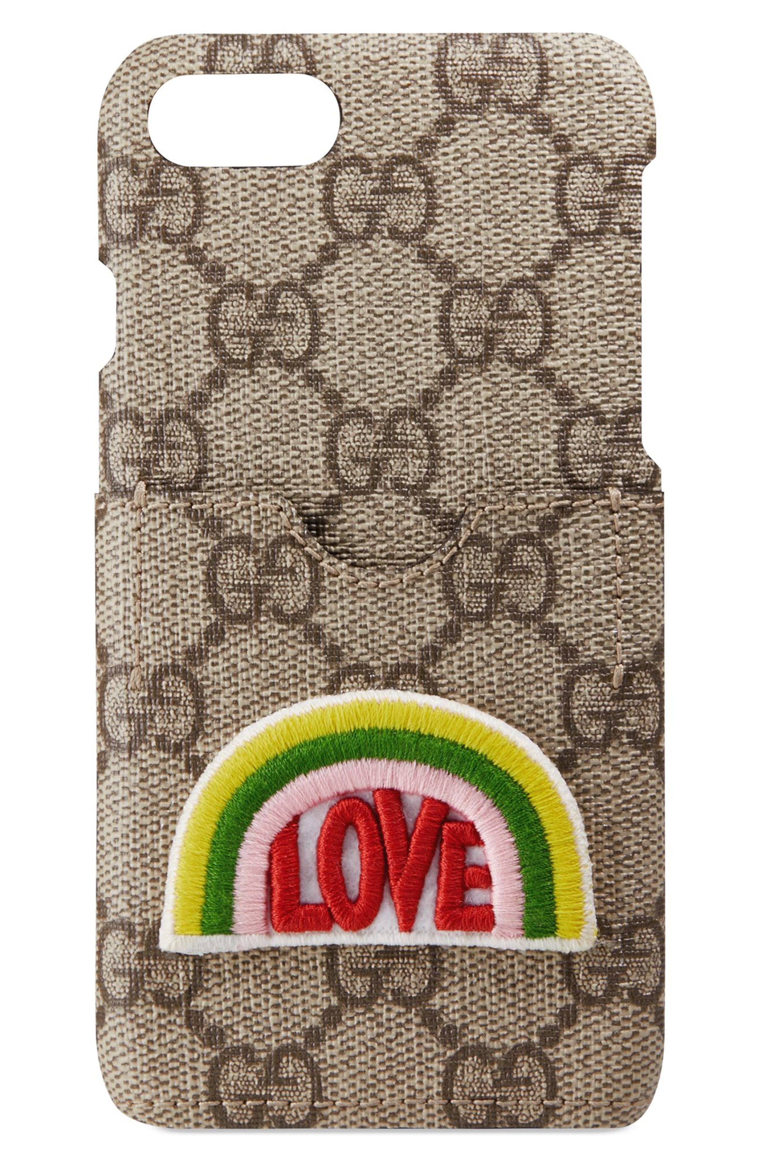 Main Image - Gucci GG Love iPhone 7 Case