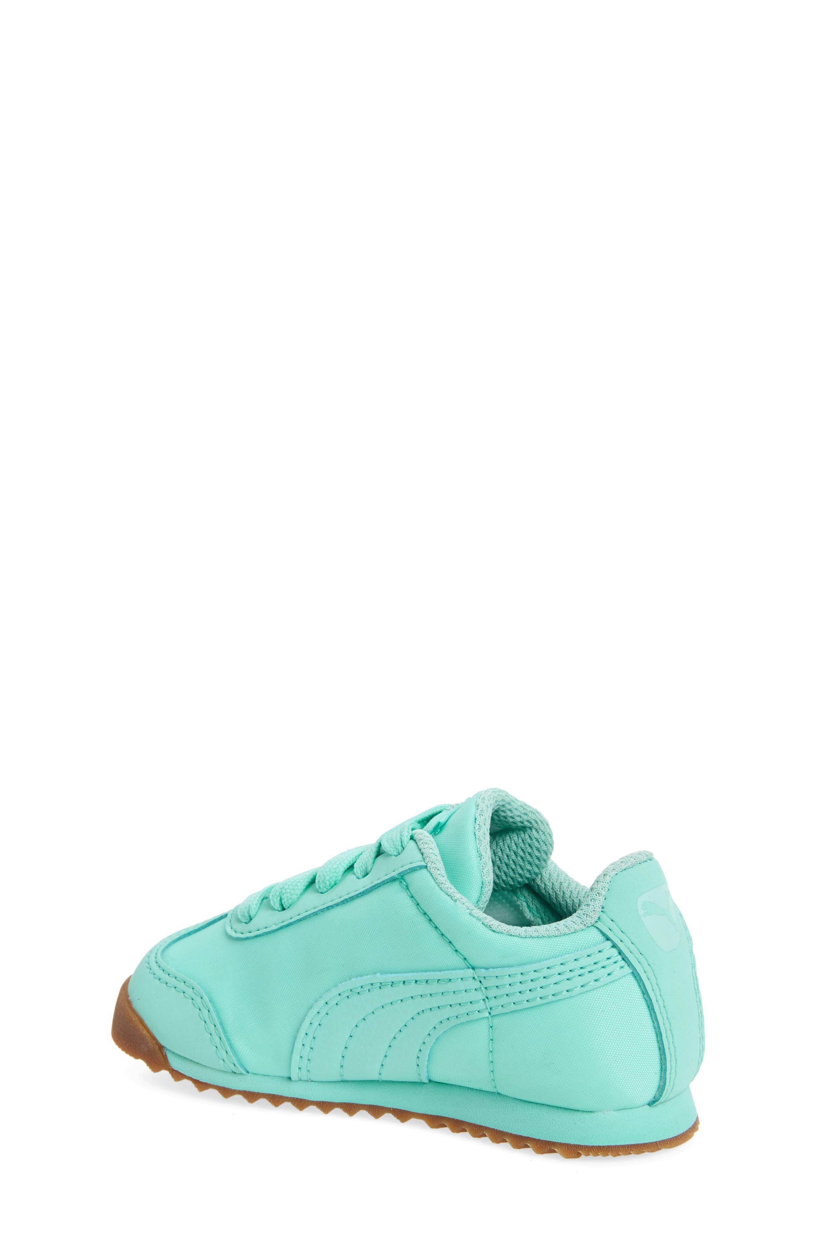 Alternate Image 2  - PUMA Roma Basic Summer Sneaker (Baby, Walker & Toddler)