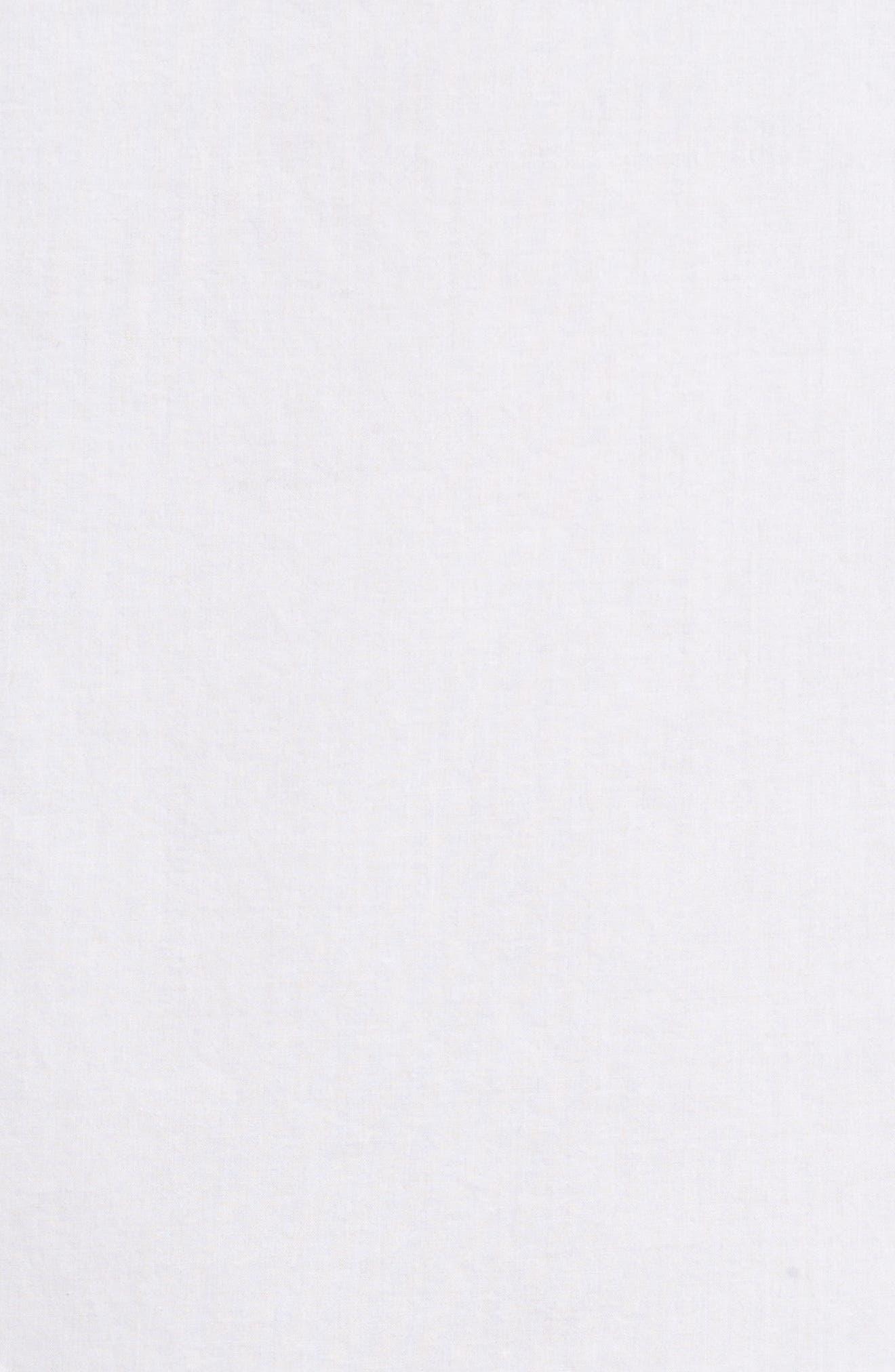 Cotton Eyelet Top,                             Alternate thumbnail 5, color,                             White