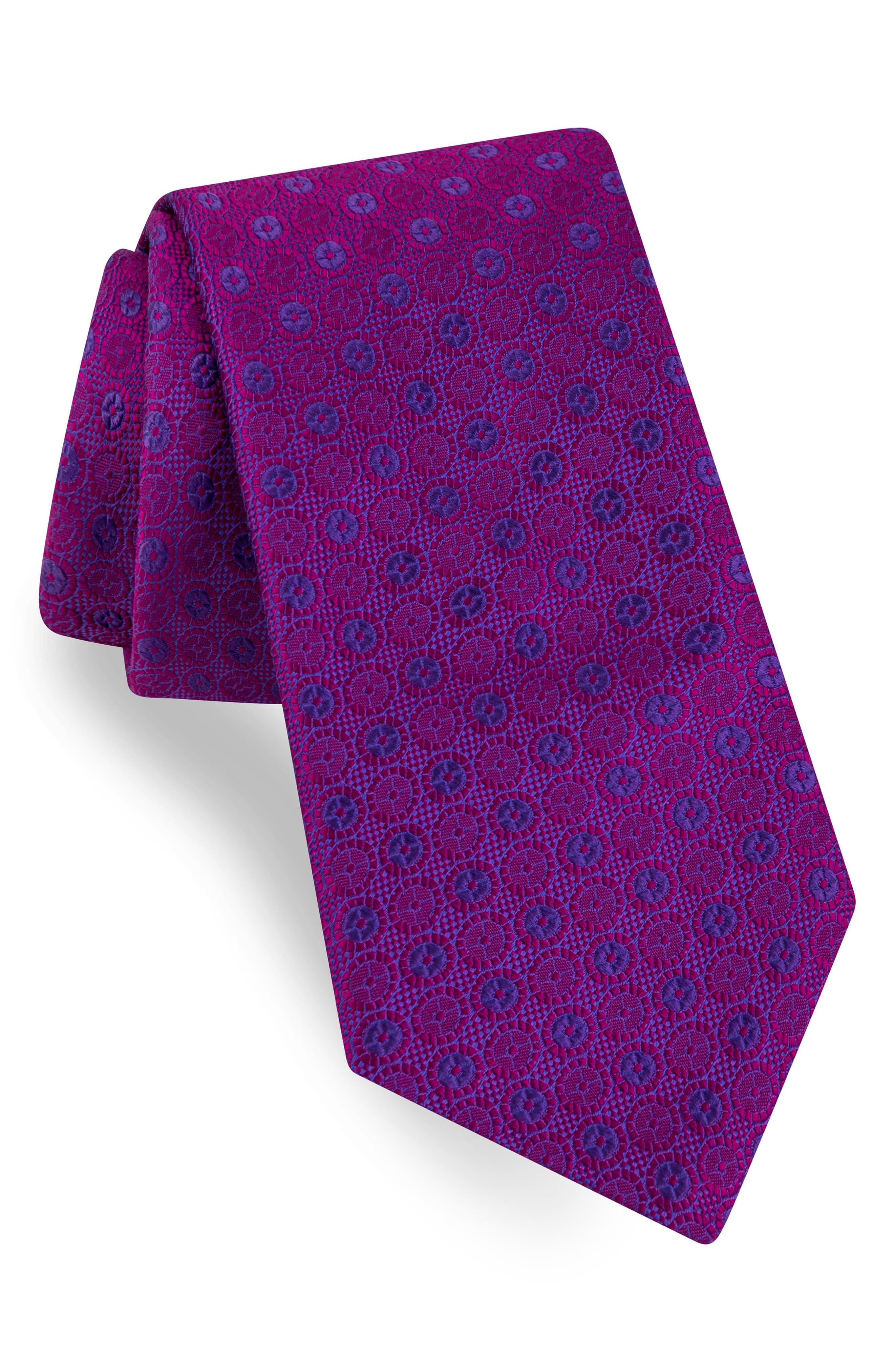 Ted Baker London Sundial Medallion Silk Tie
