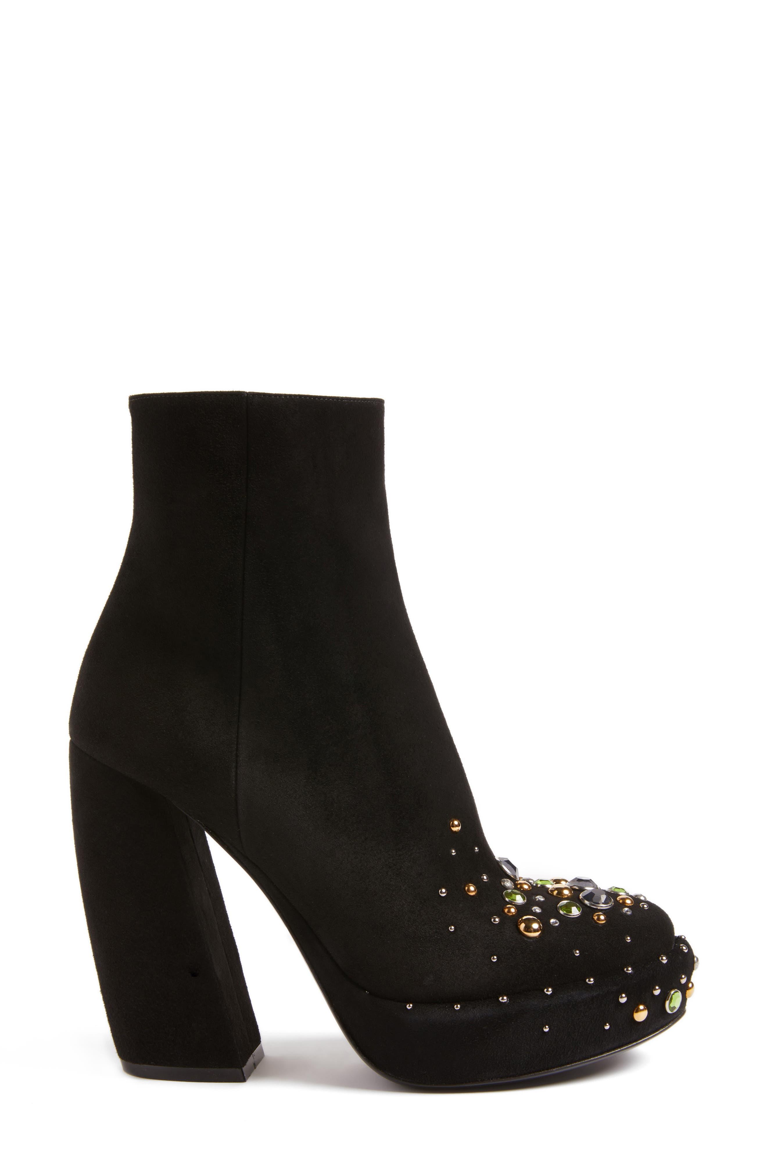 Alternate Image 3  - Prada Embellished Platform Boot (Women)