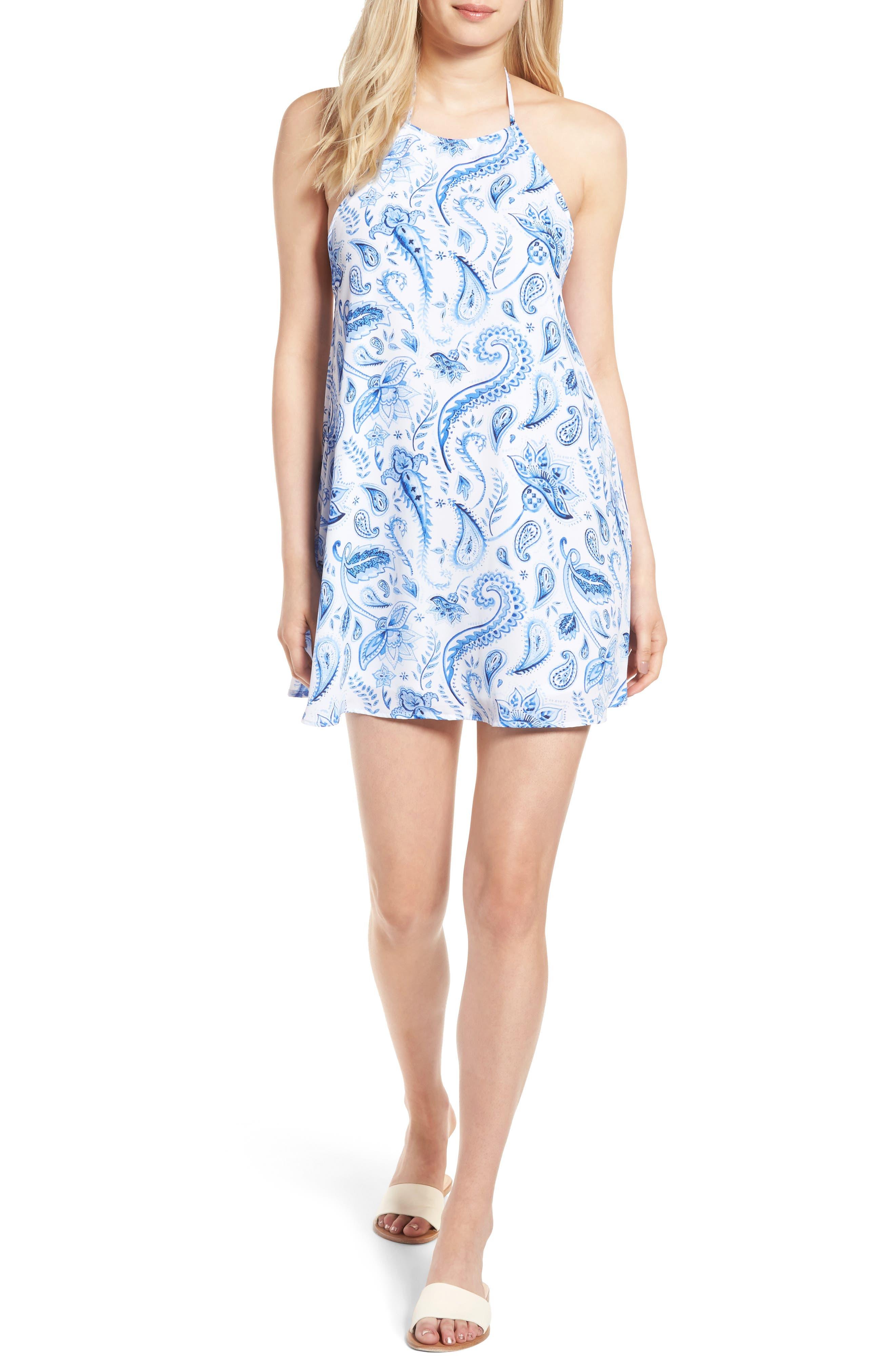 Main Image - Show Me Your Mumu Katy Halter Dress