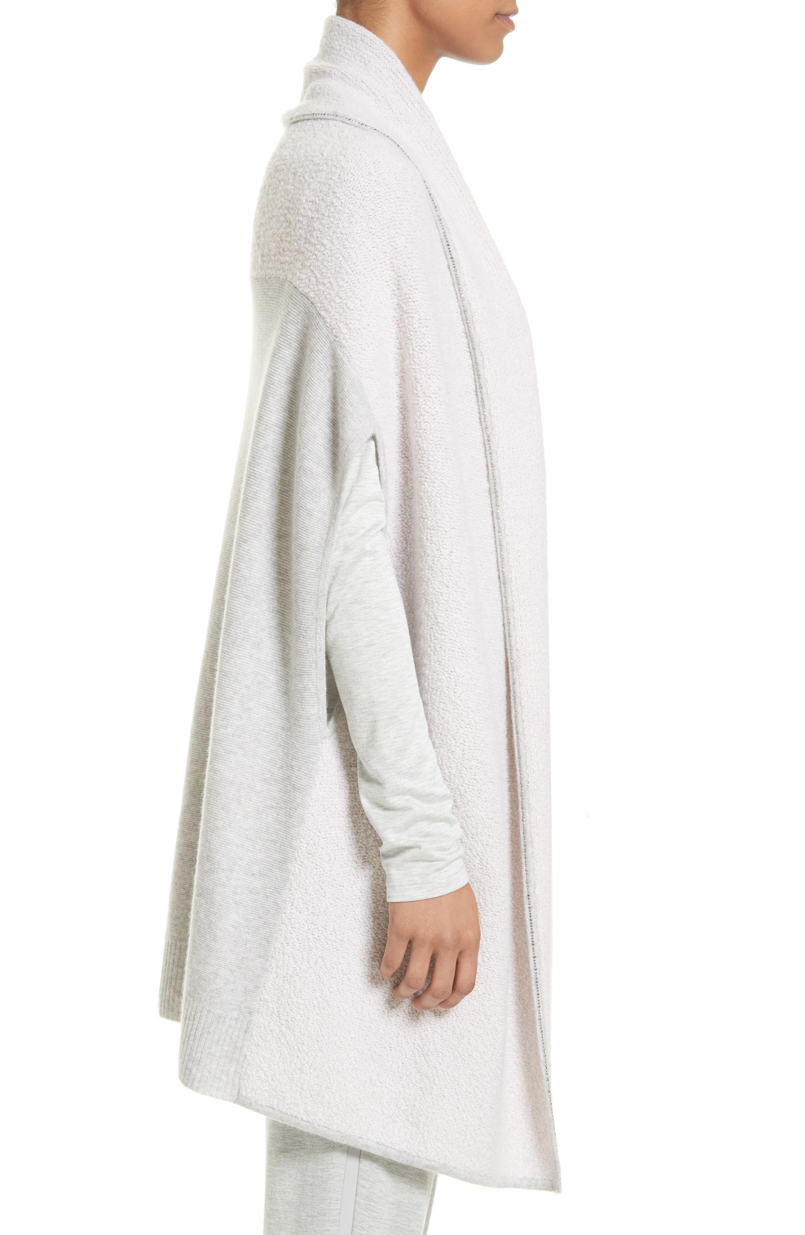 Alternate Image 3  - St. John Collection Cashmere Jersey Cardigan