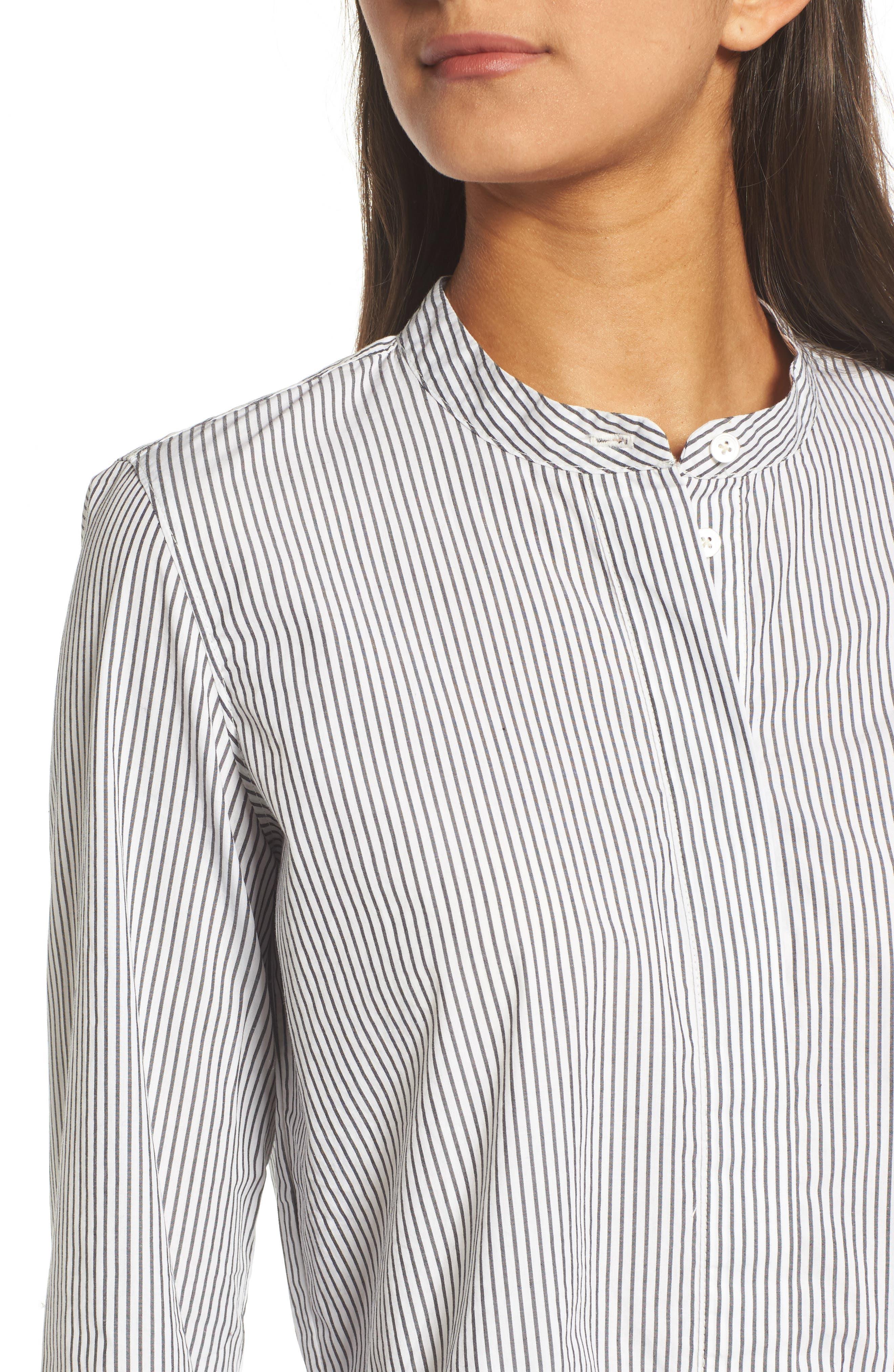 Alternate Image 5  - Madewell Peplum Shirt