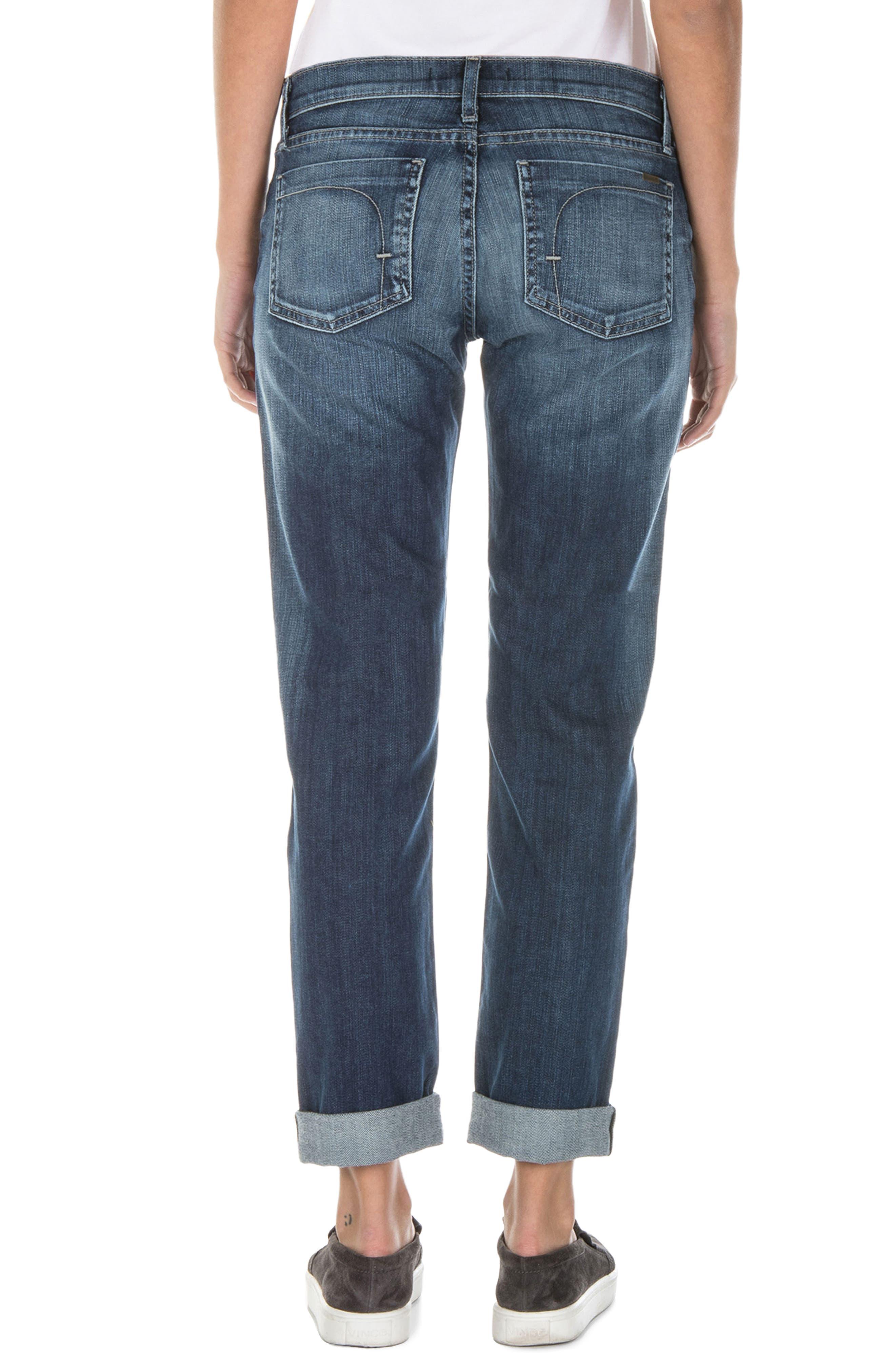 Alternate Image 3  - Fidelity Denim Axl Girlfriend Jeans (Exile Vintage)