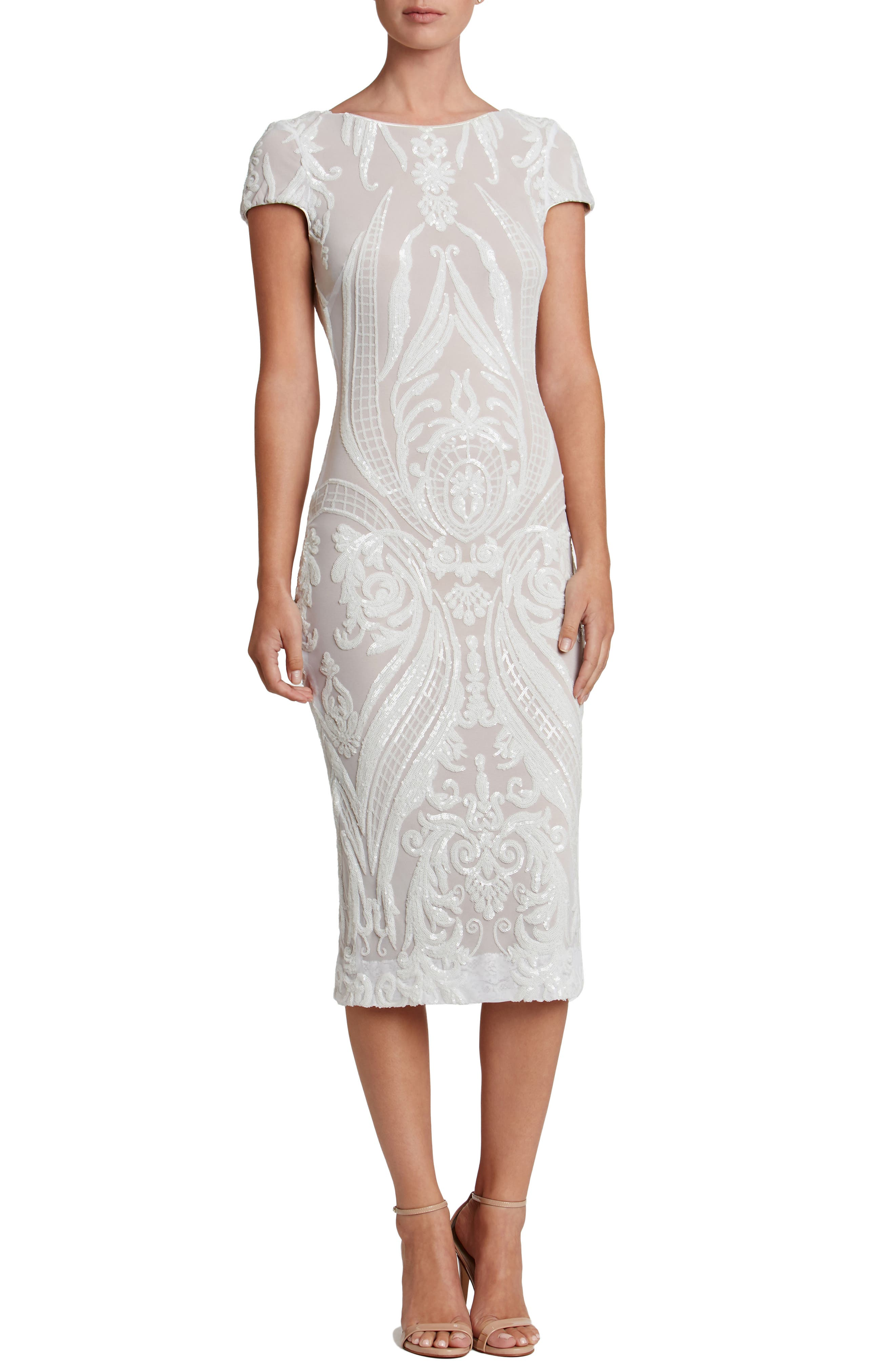 Alternate Image 1 Selected - Dress the Population Brandi Sequin Body-Con Dress