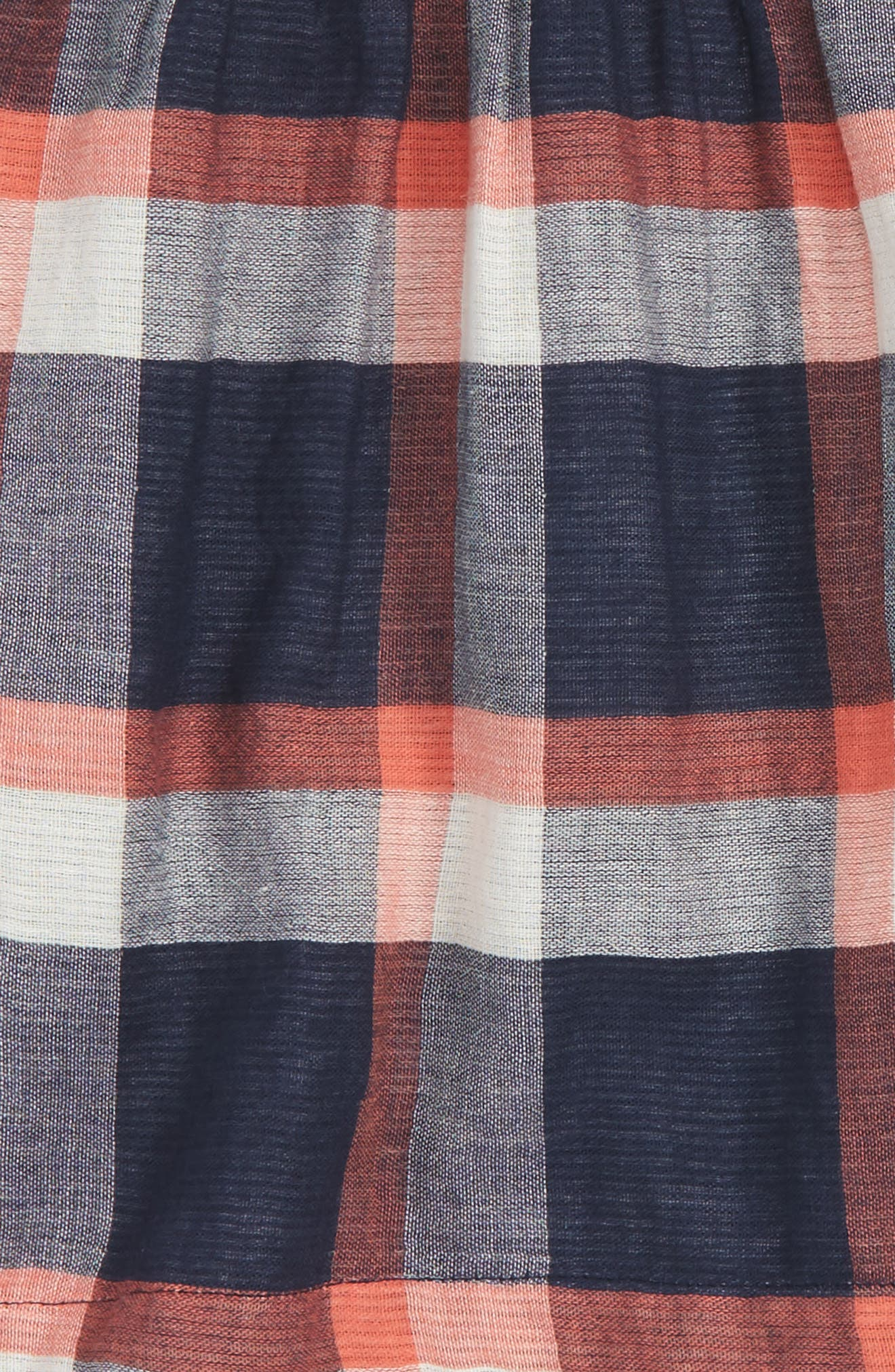 Alternate Image 2  - Tucker + Tate Plaid Short Sleeve Dress (Baby Girls)