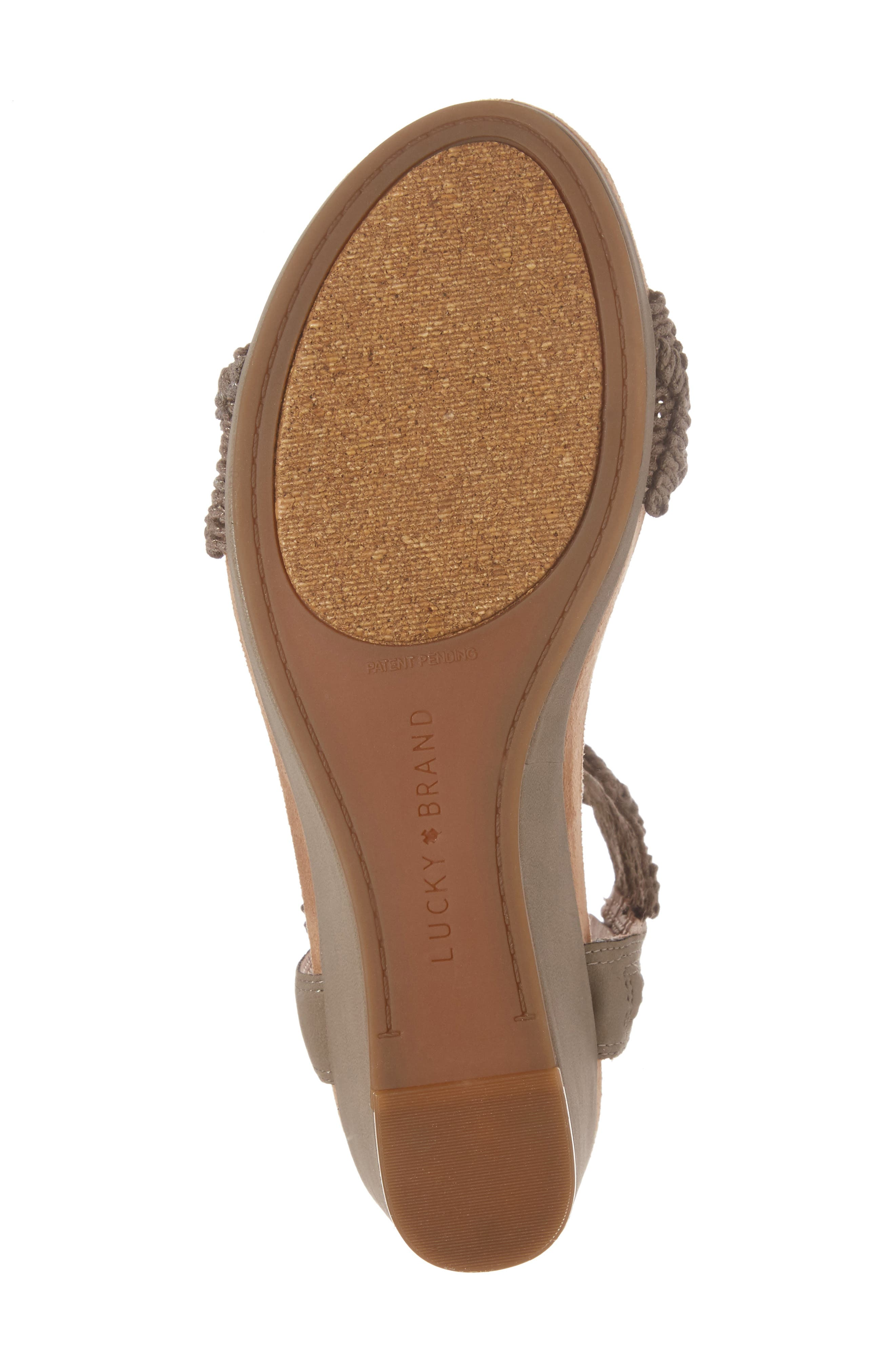 Alternate Image 6  - Lucky Brand Kierlo Wedge Sandal (Women)