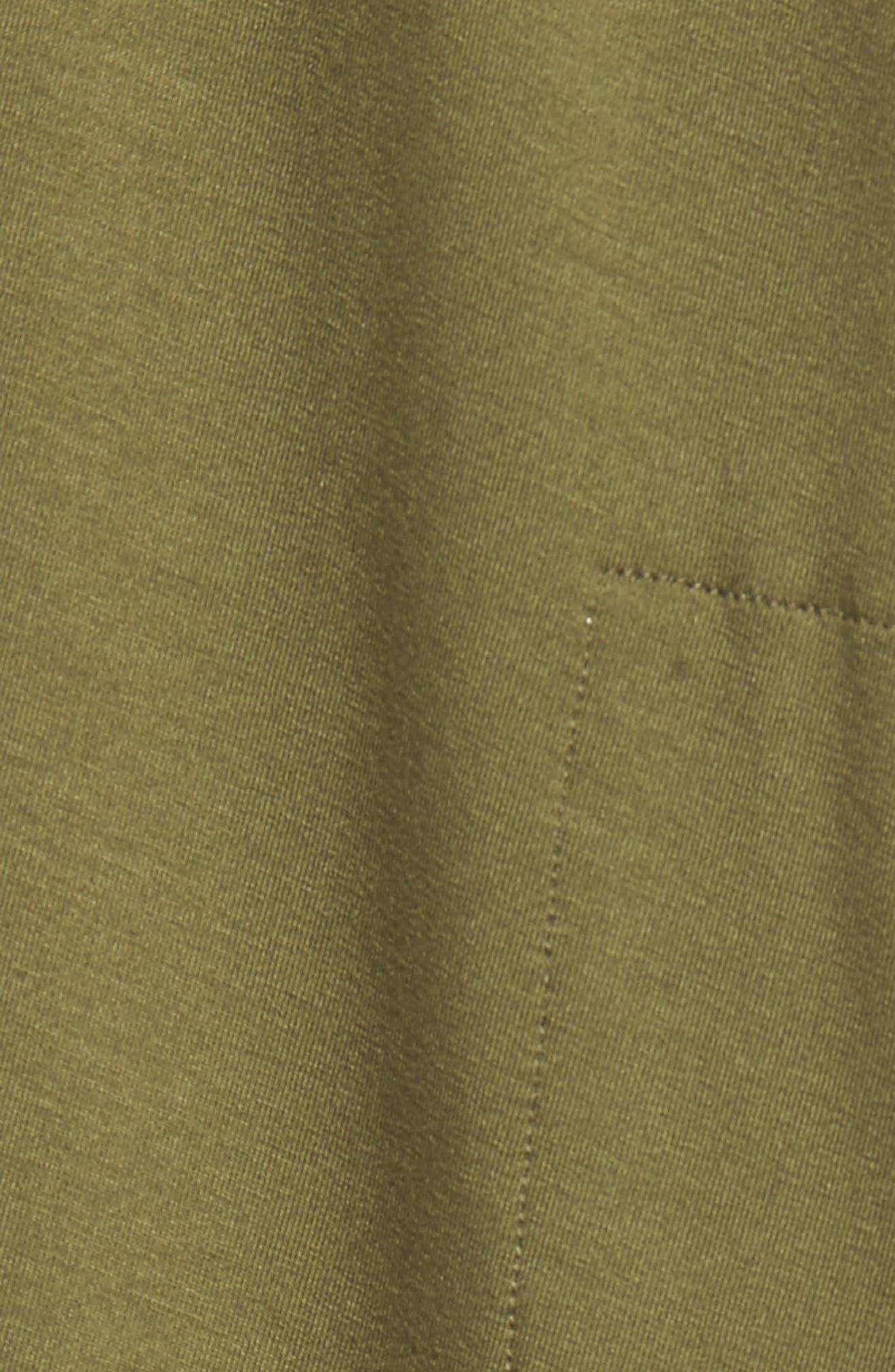 Alternate Image 5  - Eilen Fisher Long Jersey Vest