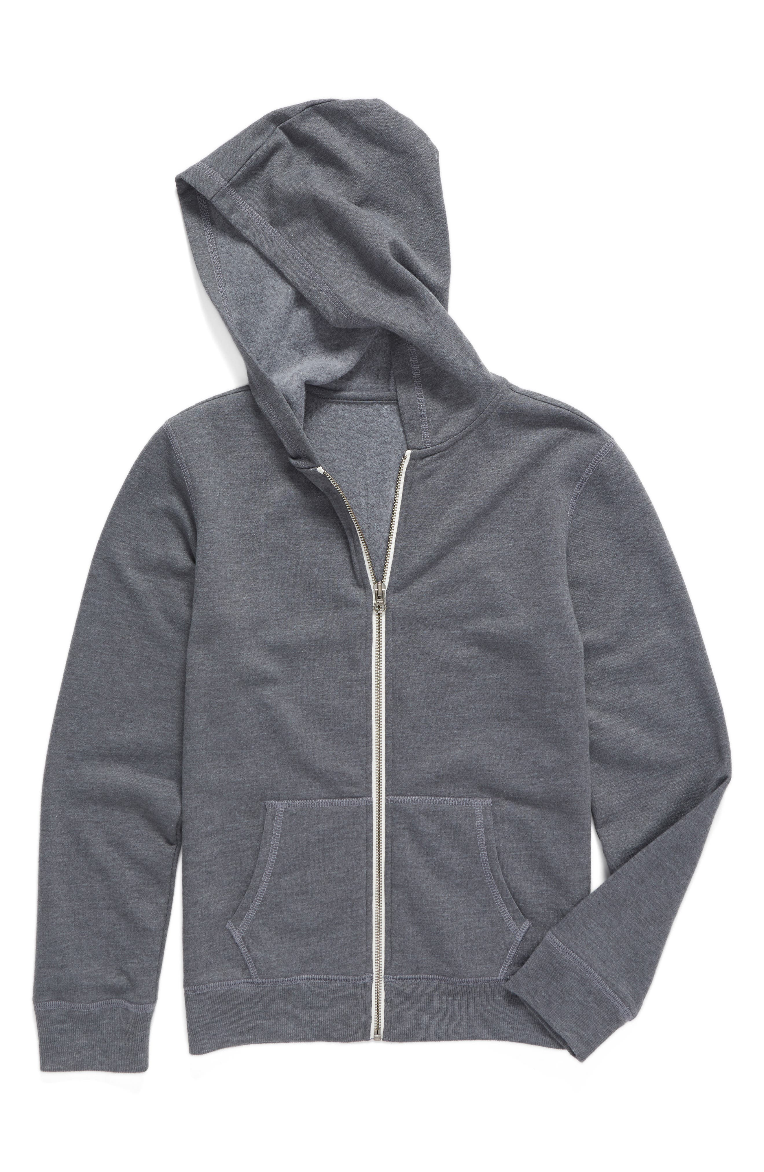 Main Image - Tucker + Tate Zip-Up Hooded Sweatshirt (Toddler Boys, Little Boys & Big Boys)