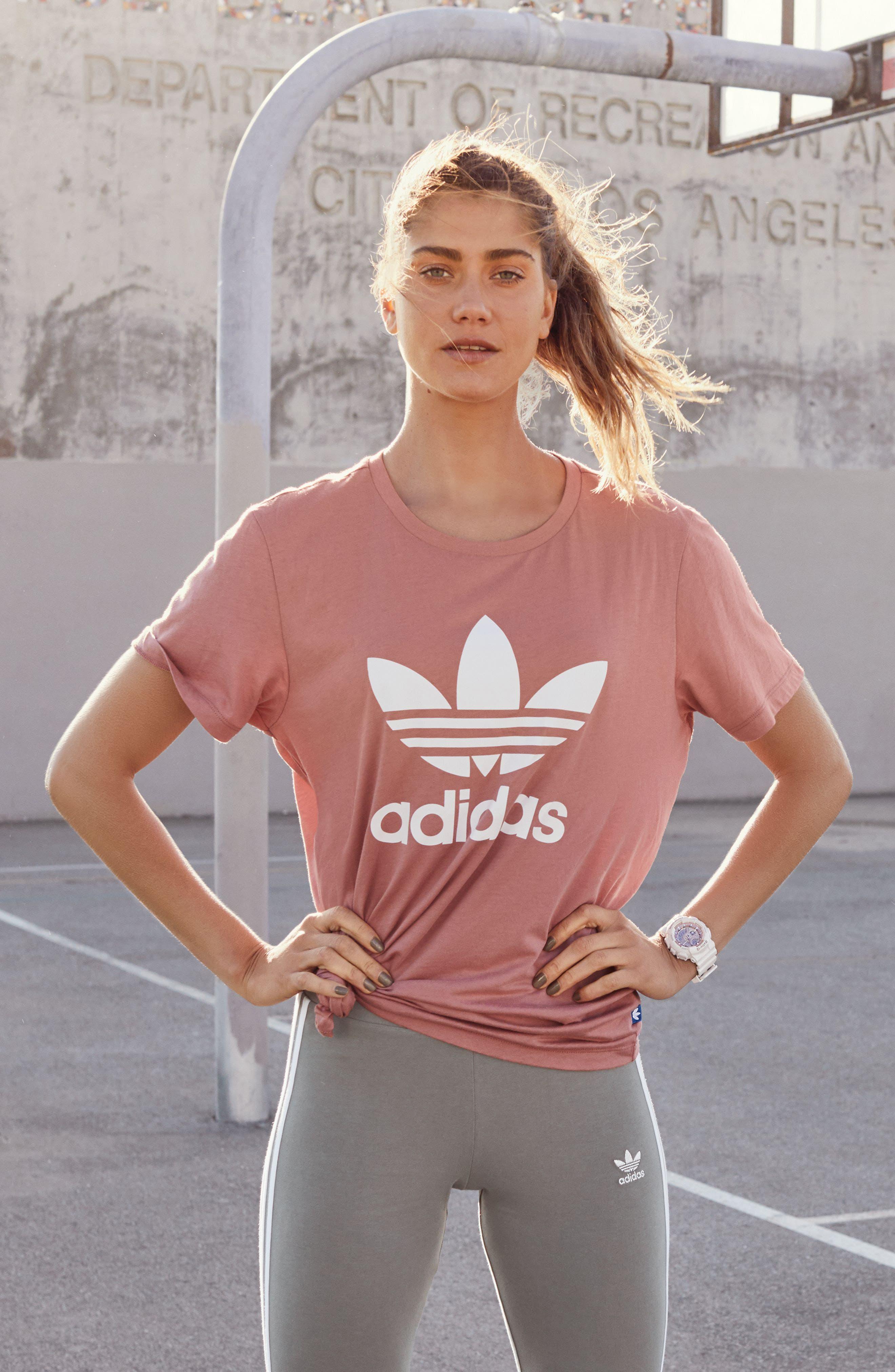 Alternate Image 2  - adidas Originals Logo Leggings
