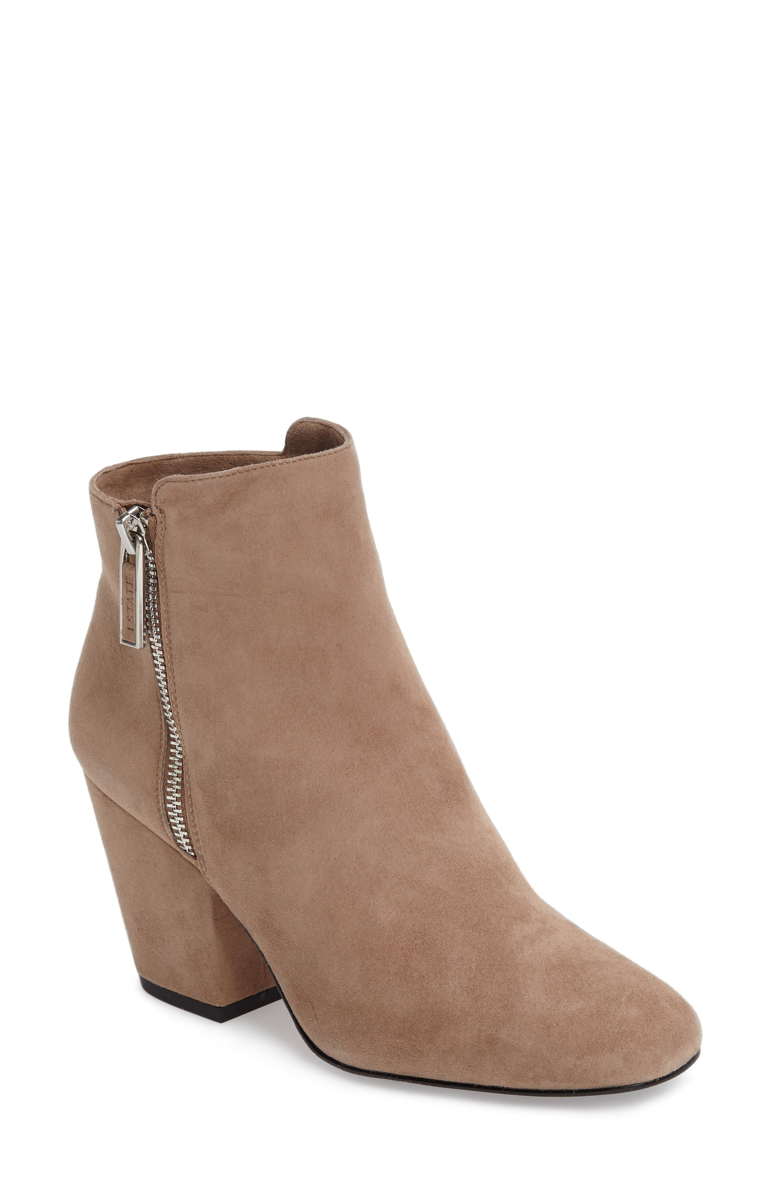 Alternate Image 1 Selected - 1.STATE Jacend Zip Bootie (Women)